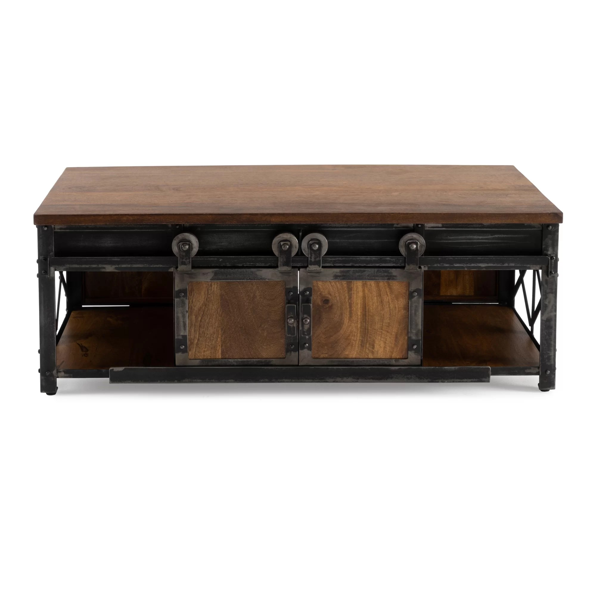 Storage Table On Wheels Estella Coffee Table With Storage