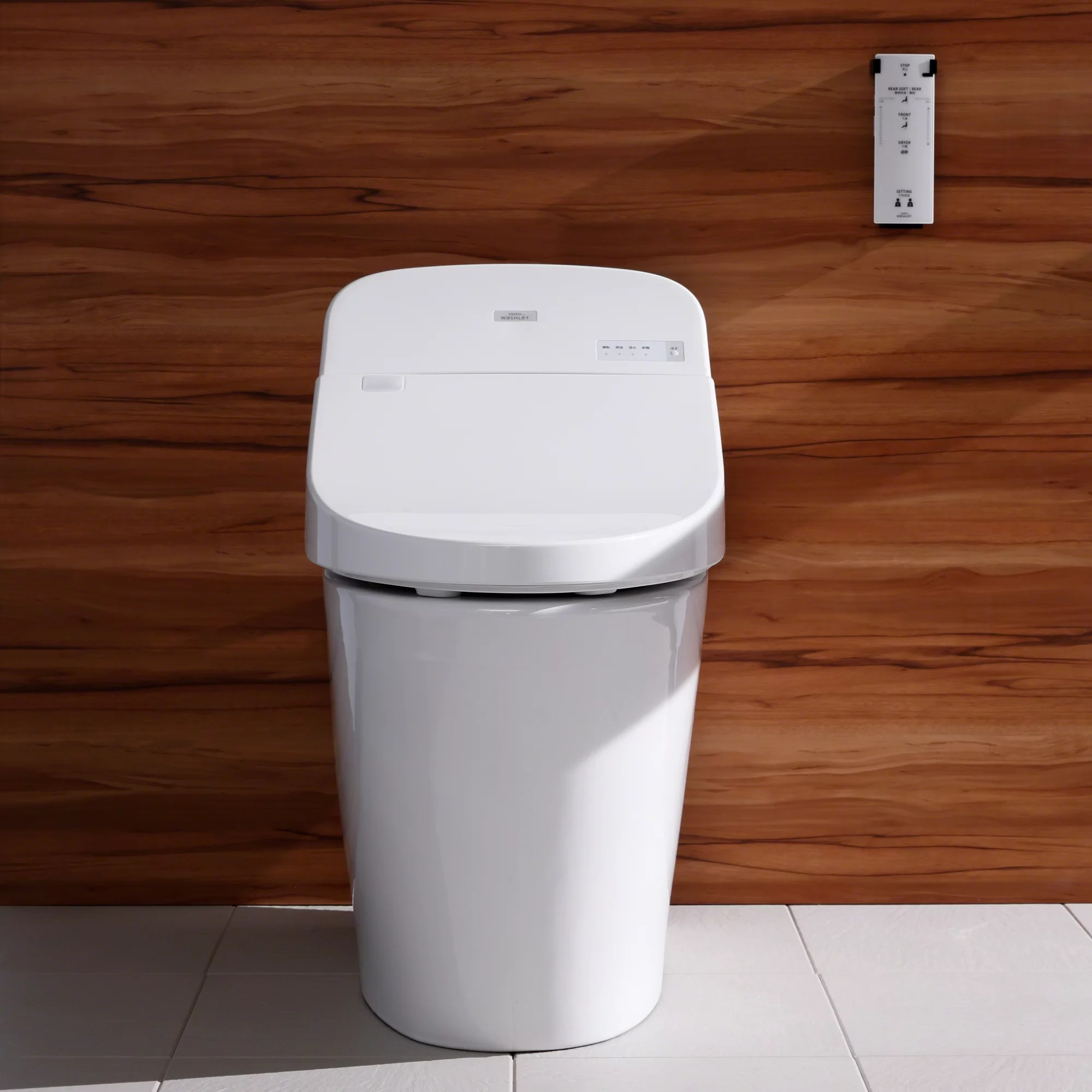 Toilette Toto Washlet G400 Integrated Dual Flush 1 28 Or 9 Gpf Floor Mounted Toilet With Bidet Seat