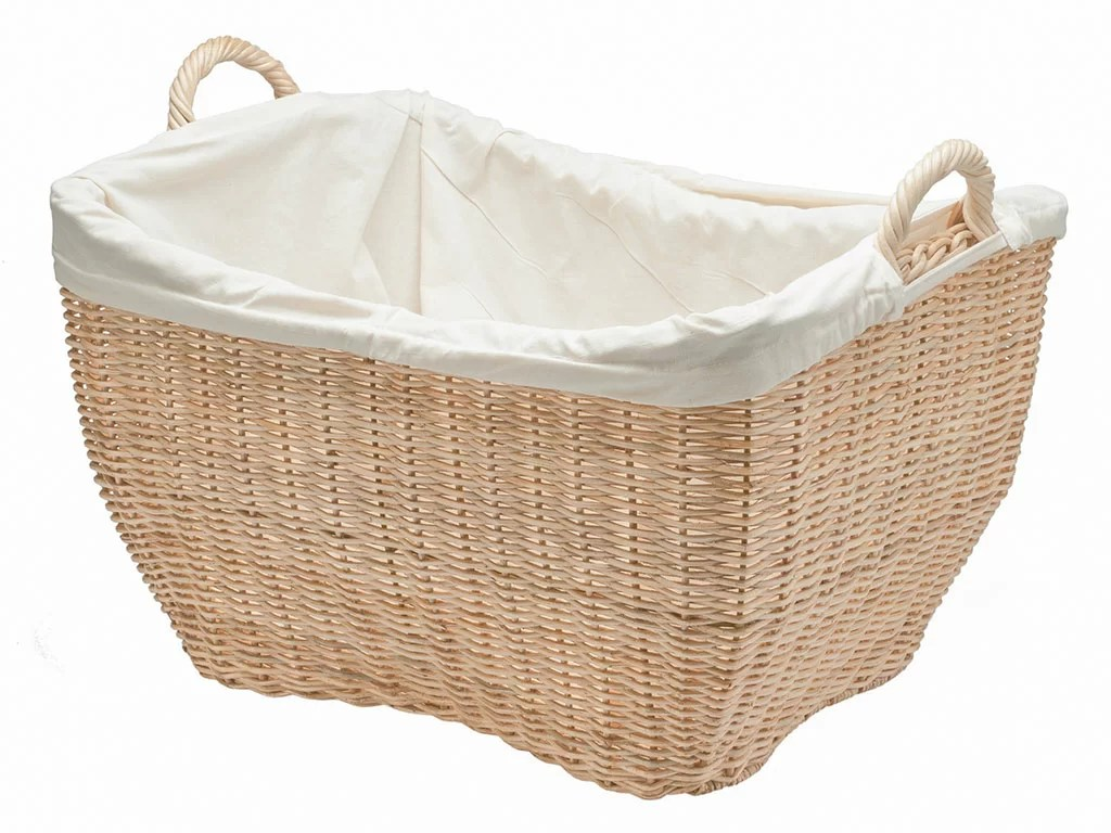 Closed Laundry Basket Kouboo Wicker Laundry Basket And Reviews Wayfair