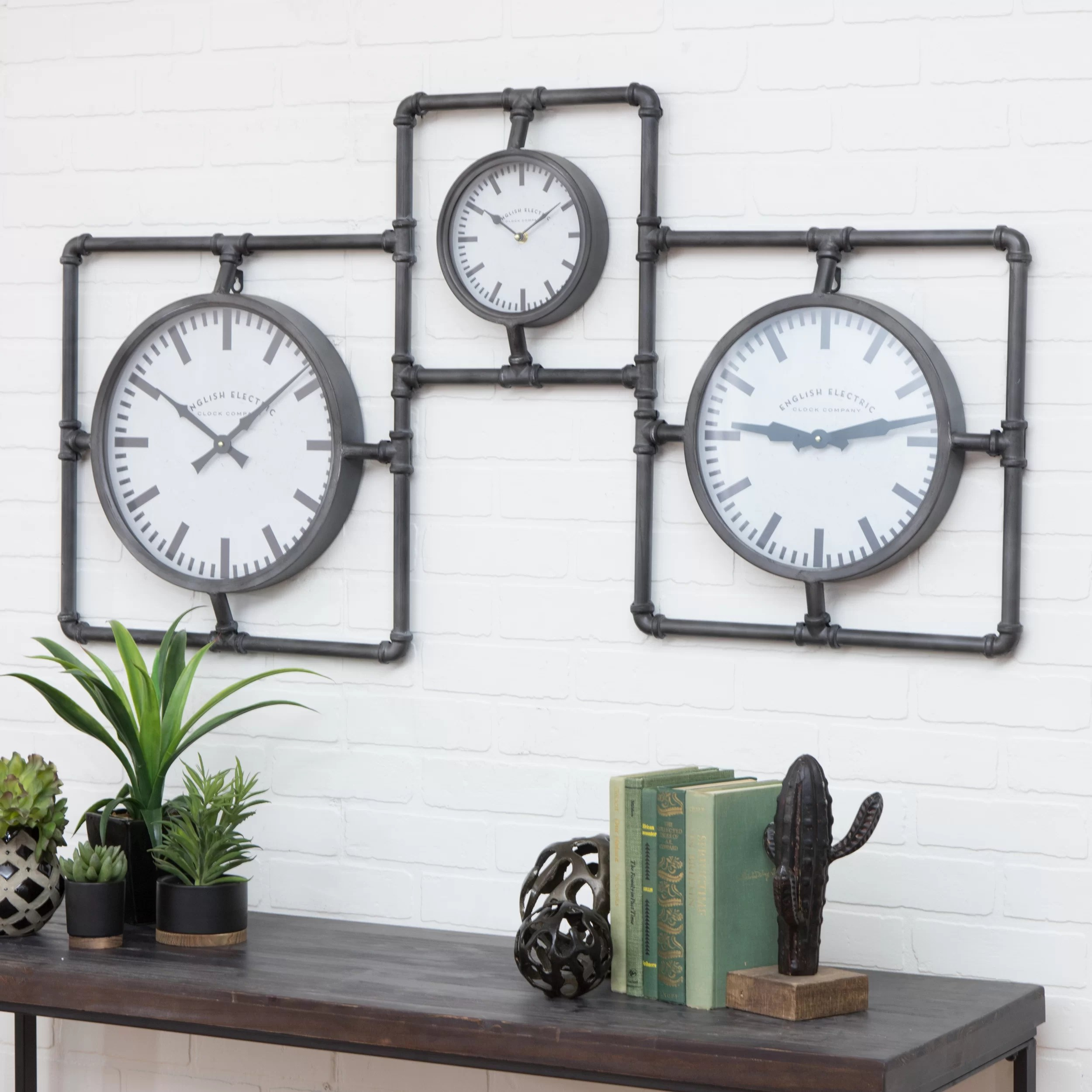Fullsize Of Wall Clock Industrial