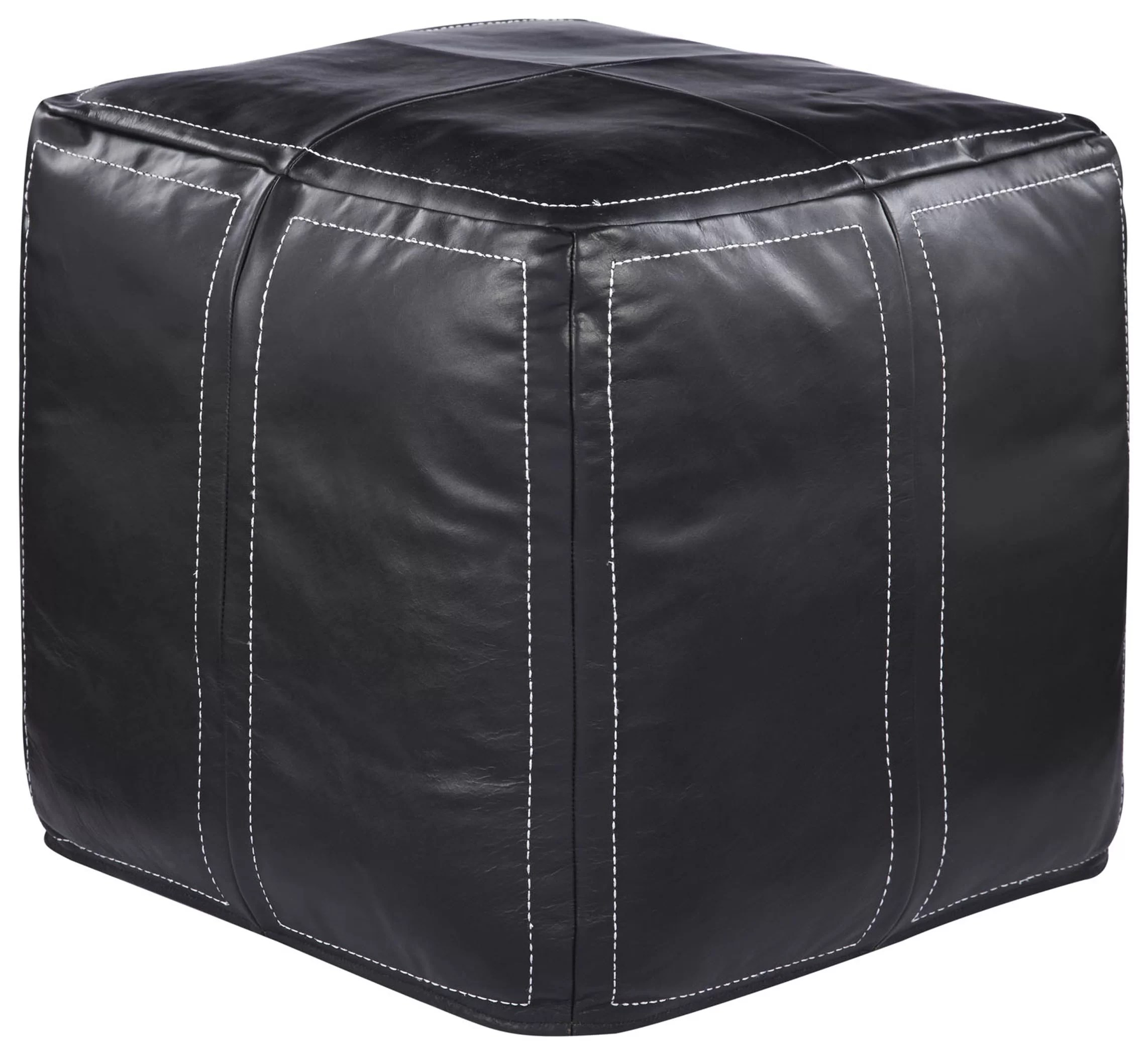Moroccan Leather Pouf Design Sit Down Pinterest Leather Ultra By Nikki Chu Leather Pouf