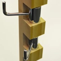 Techstyle Vertical Wall Mounted Coat Rack & Reviews ...