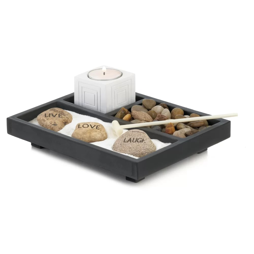 Table Top Zen Garden Live Love Laugh Zen Garden