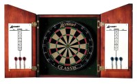Accudart Union Jack Dartboard Cabinet Set & Reviews | Wayfair