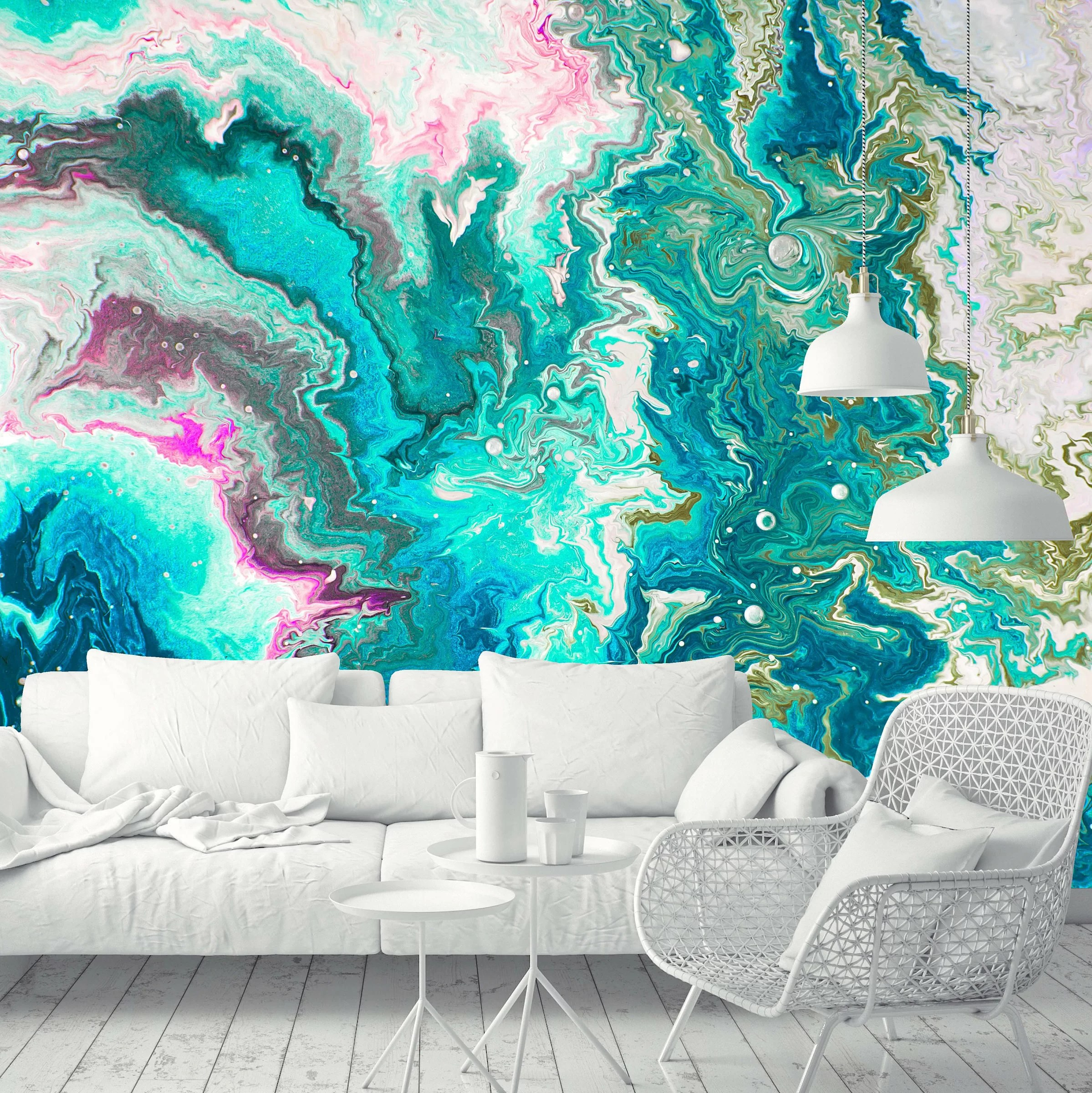 Wallpaper Murals For Bathrooms Goldberg Removable Abstract Paint 6 58 L X 125