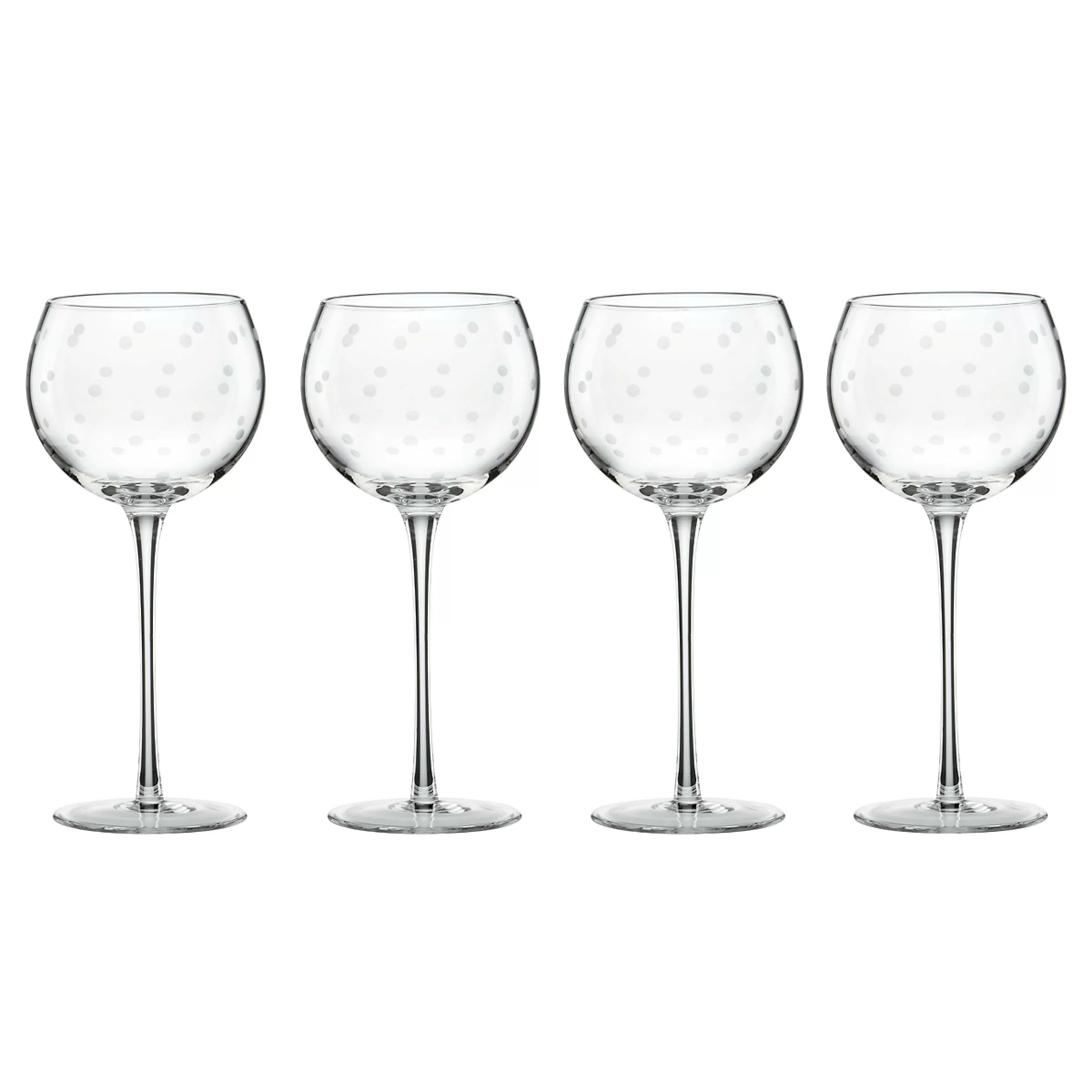 Wine Glasses Larabee Dot 16 Oz All Purpose Wine Glass