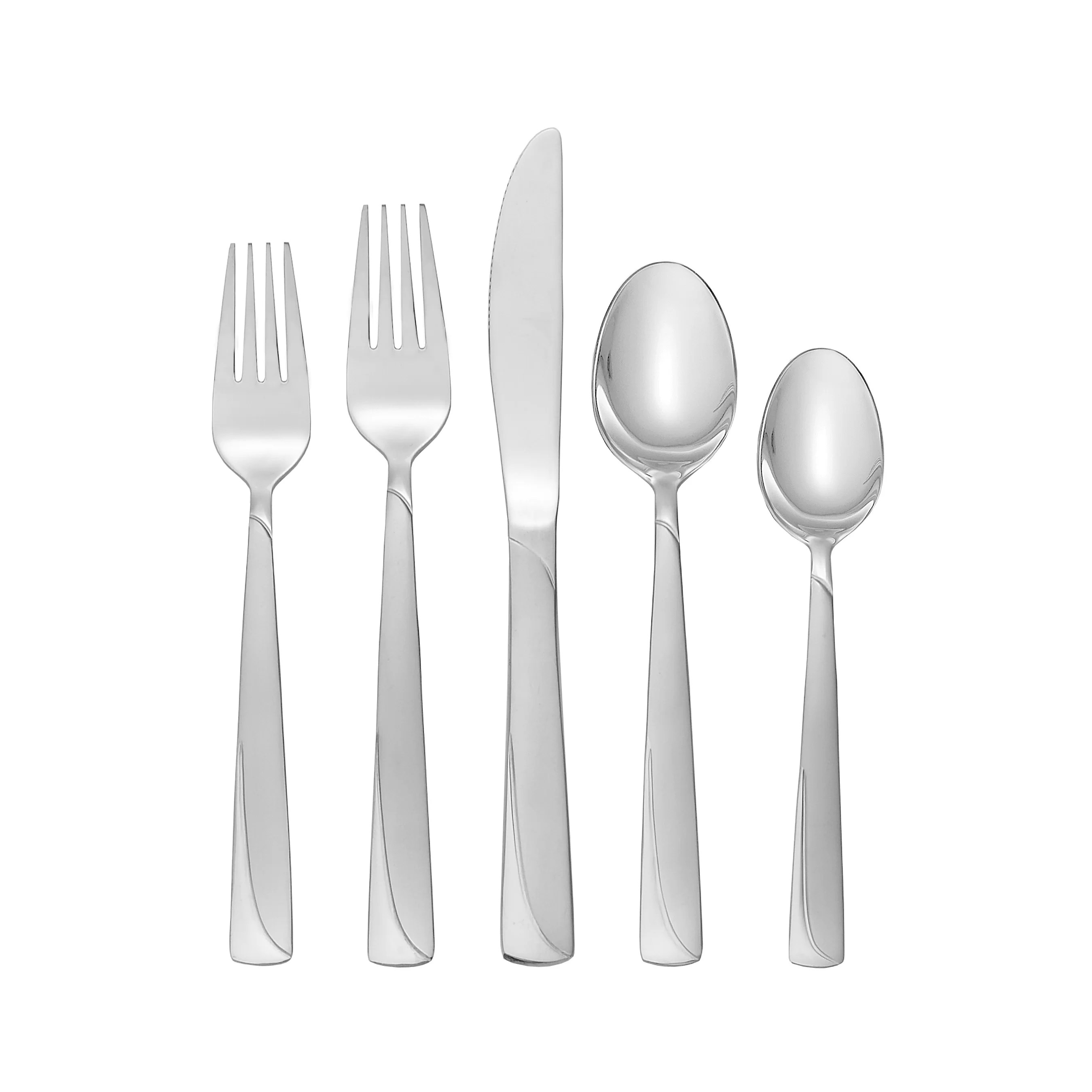 Chaise Spoon Madeline 74 Piece Flatware Set
