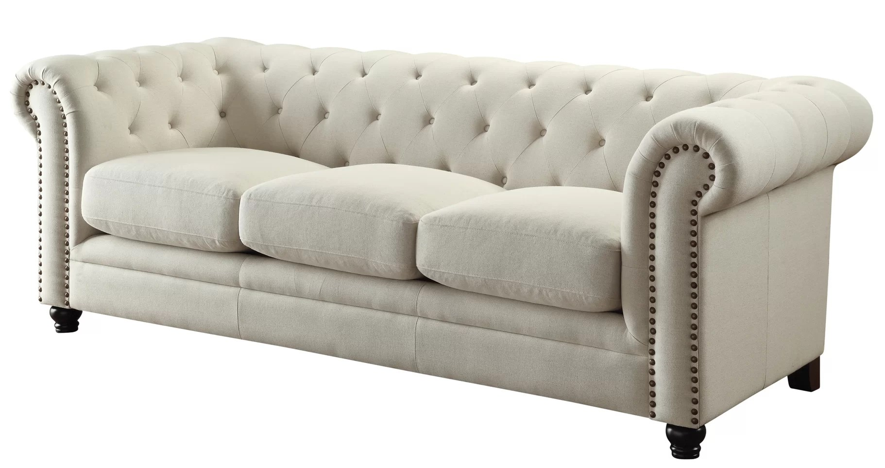 Sofa In Chesterfield Look Dalila Chesterfield Sofa
