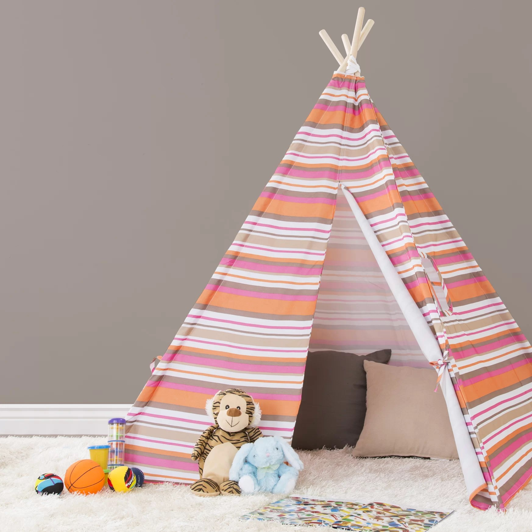 Teepee Kids Kids Pop Up Play Teepee