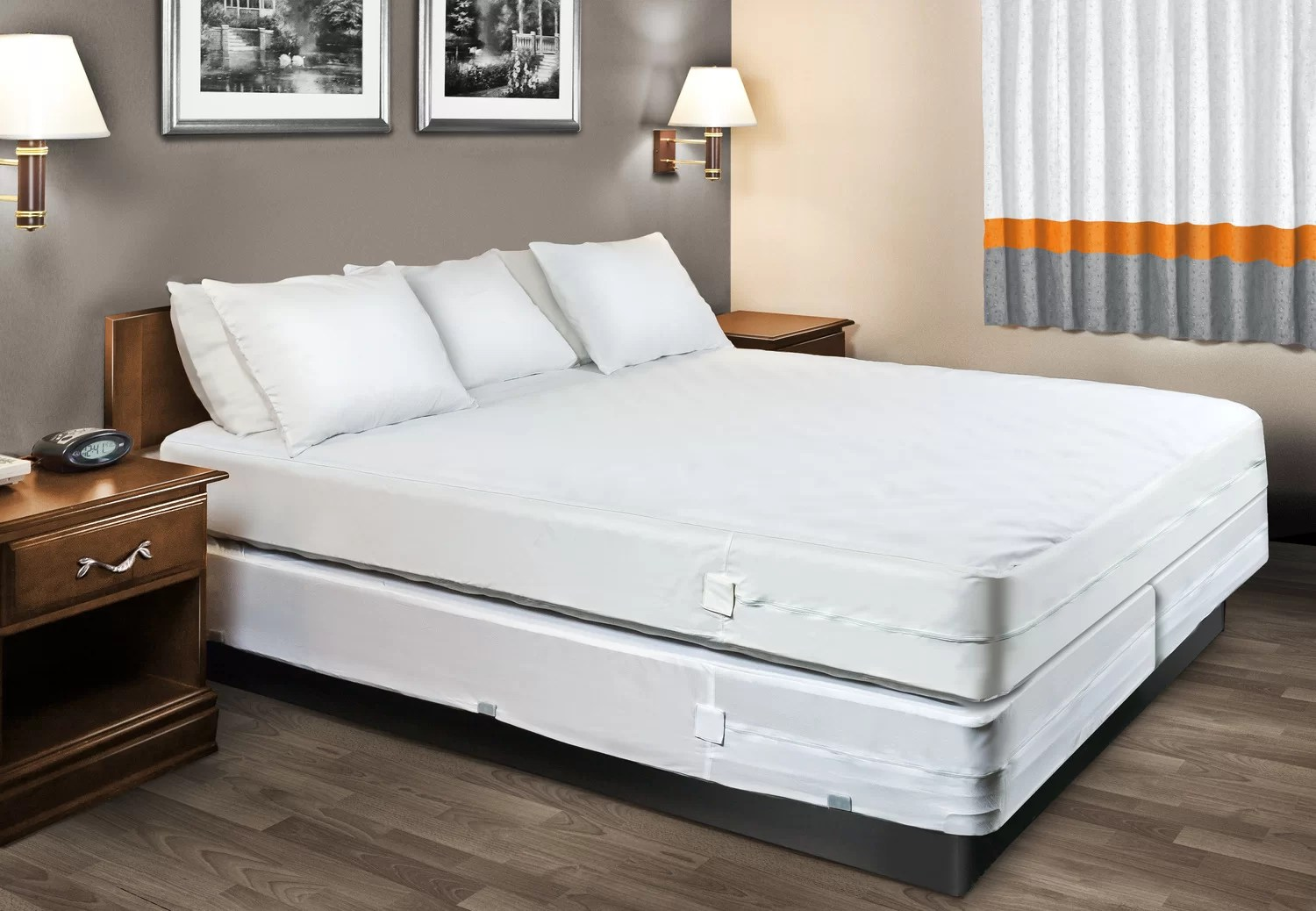 Bed Bugs Mattress Cover Beckett Sleep Defense System Hypoallergenic And Waterproof Mattress Cover