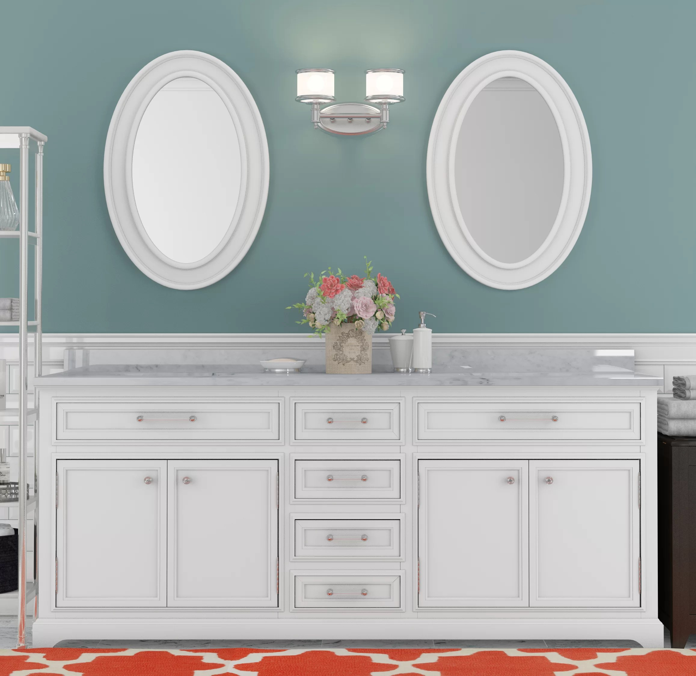 Bathroom Vanity 72 Double Sink Bergin 72