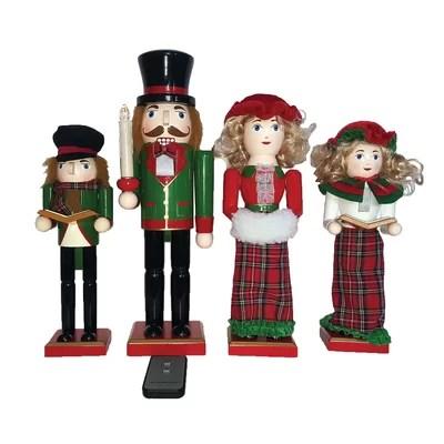 Christmas Caroler Figurines Youu0027ll Love Wayfairca - christmas carolers decorations