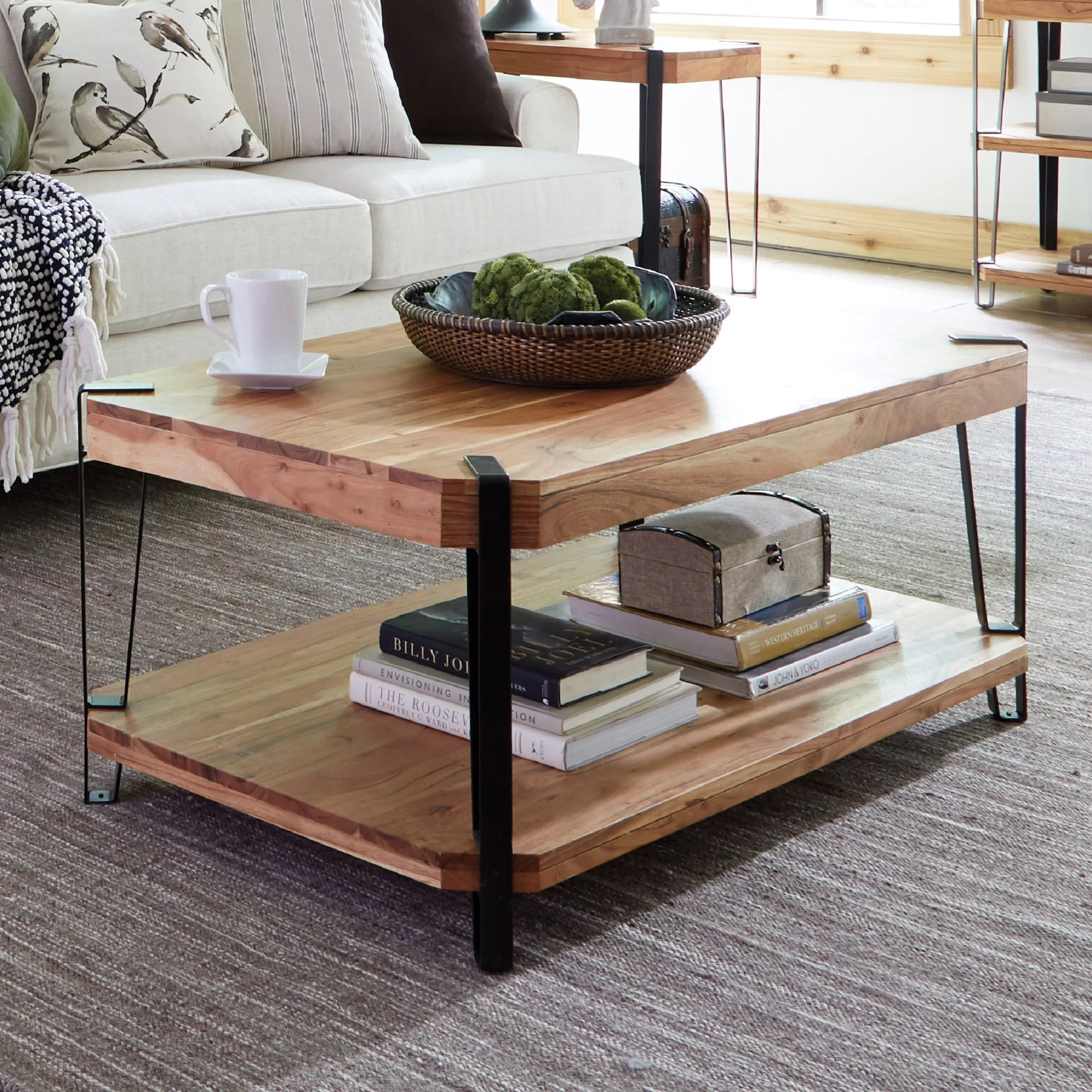 Urban Sofa Live Edge Tindal Live Edge Coffee Table