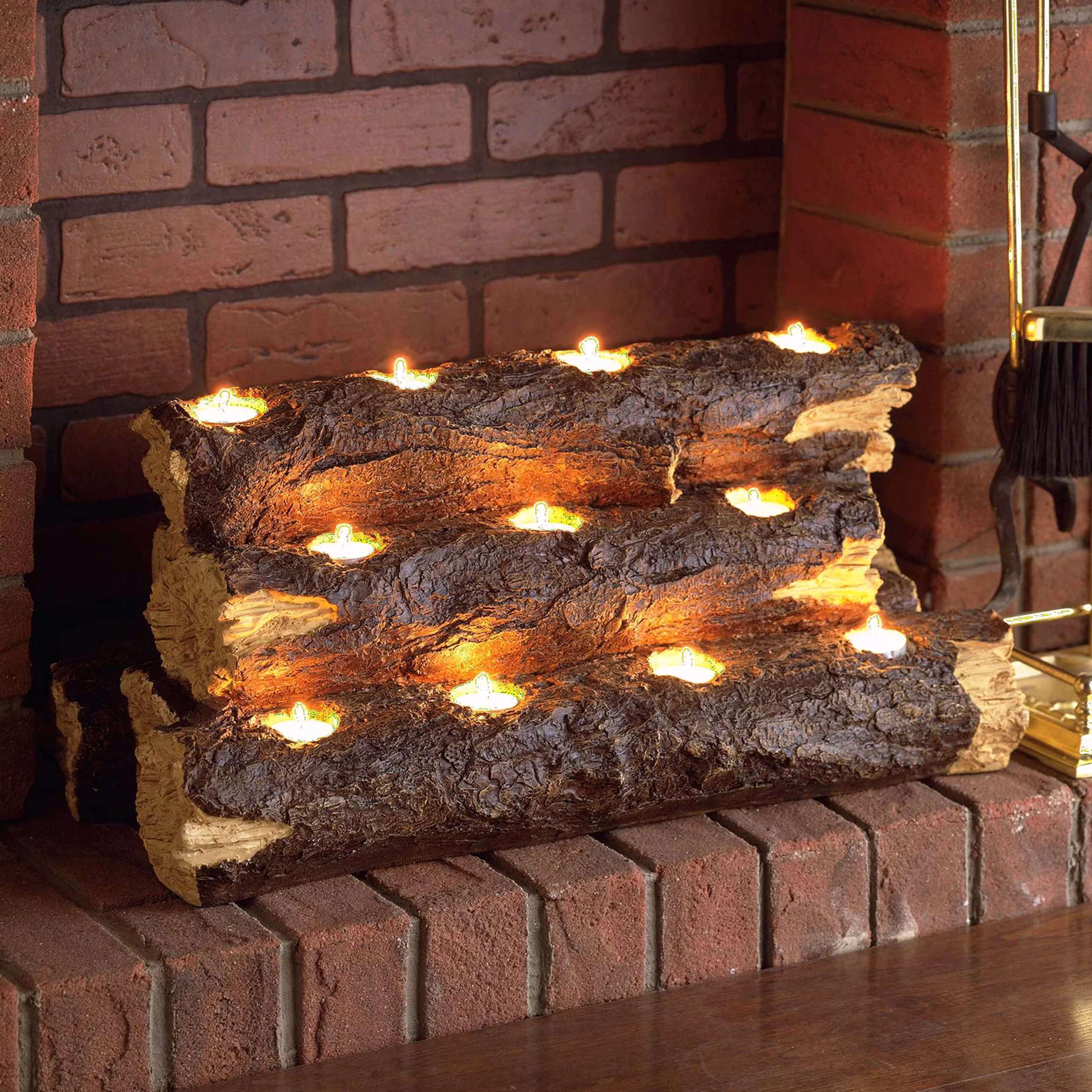 Gas Log Starters For Fireplace Tealight Fireplace Decorative Logs