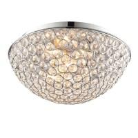 Endon Lighting Chryla 3 Light Flush Ceiling Light ...