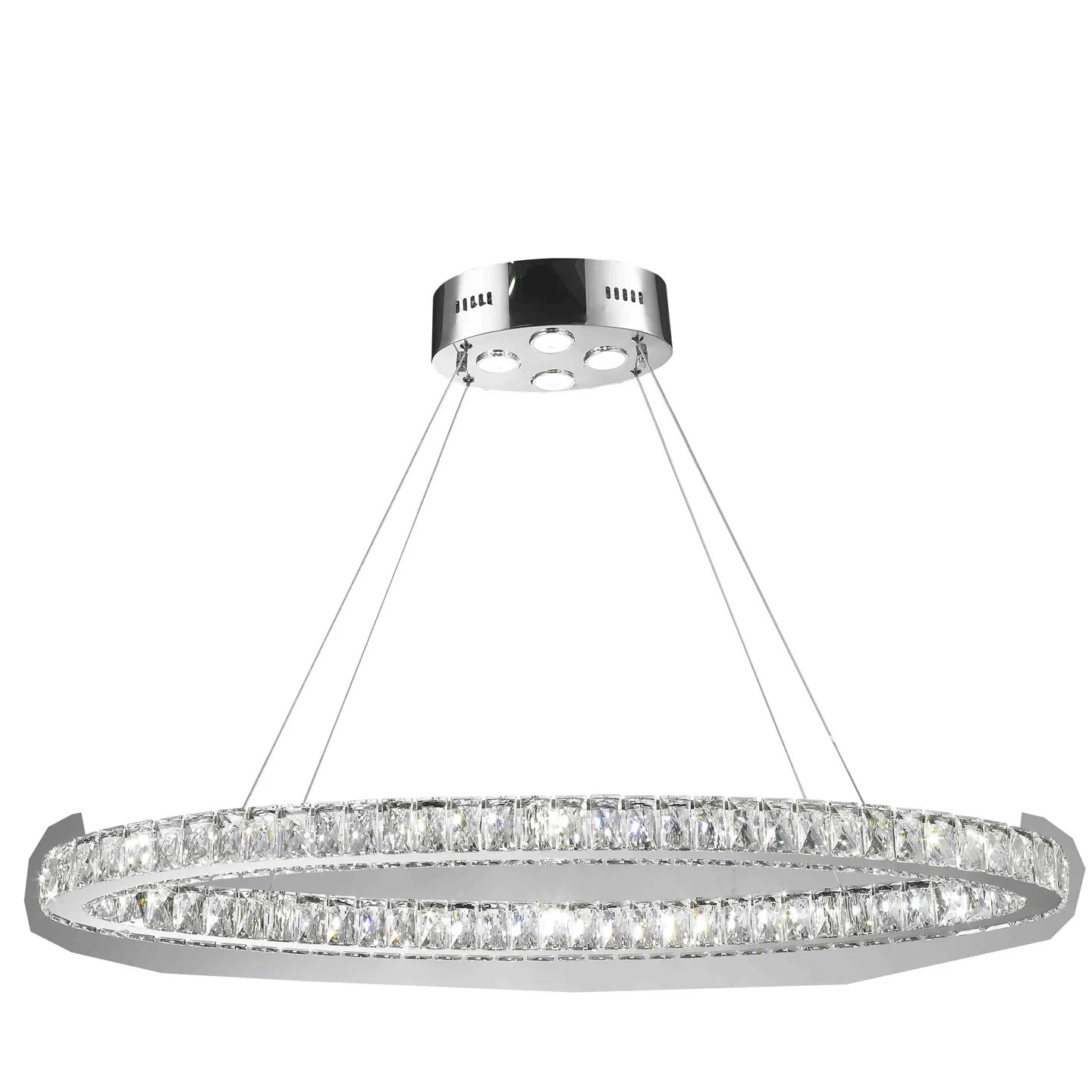 Led Chandelier Leiter 20 Light Led Crystal Chandelier