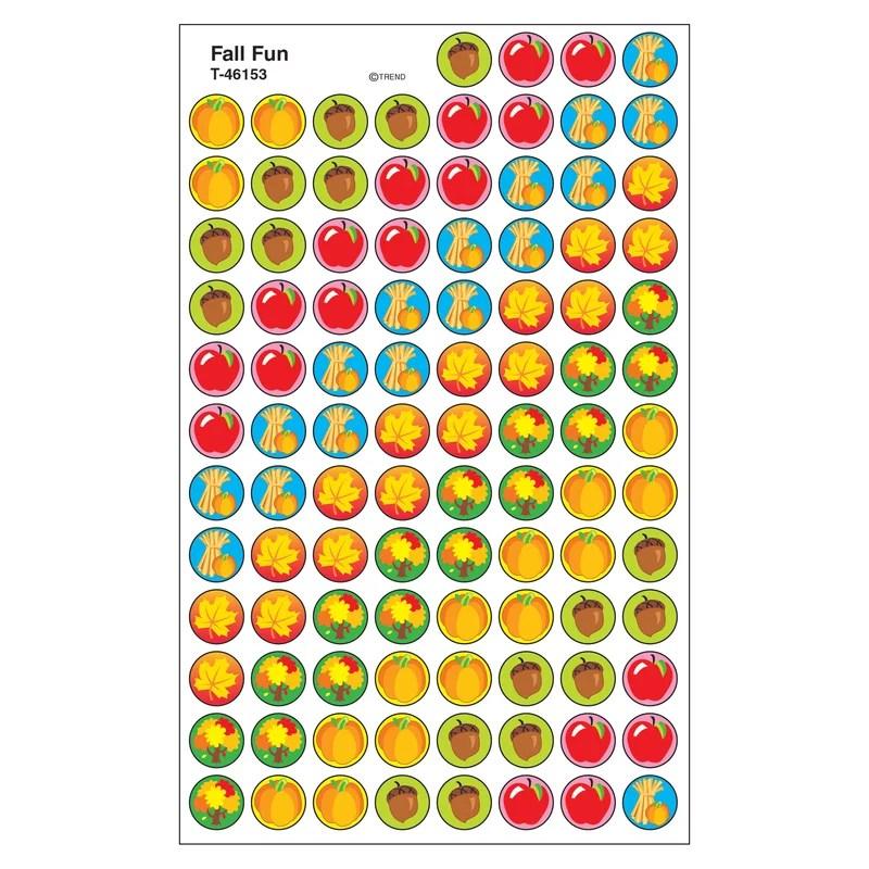Trend Enterprises Superspots Fall Fun Sticker Wayfair