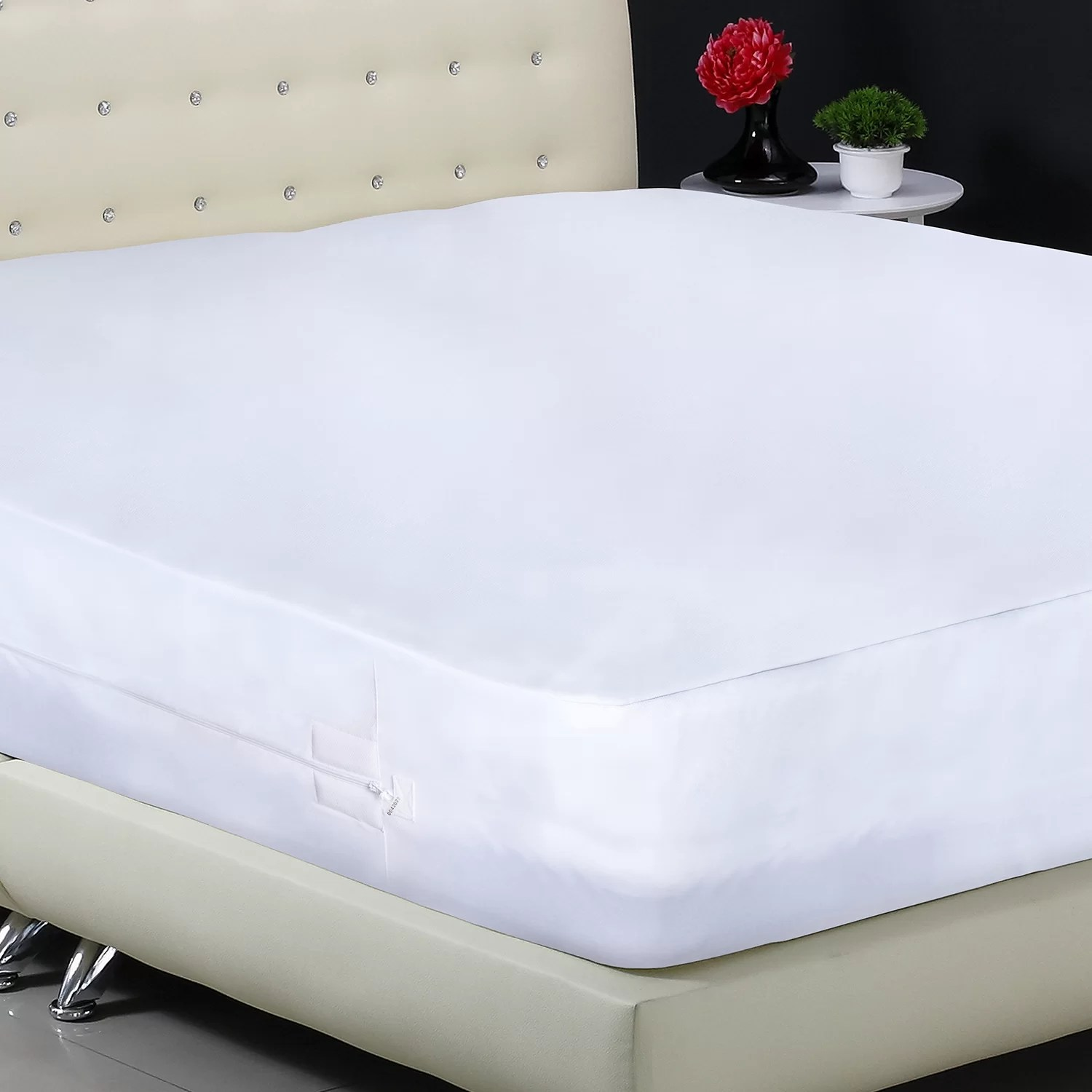 Bed Bug Proof Cover Aller Zip Smooth Anti Allergy And Bed Bug Proof Mattress Protector