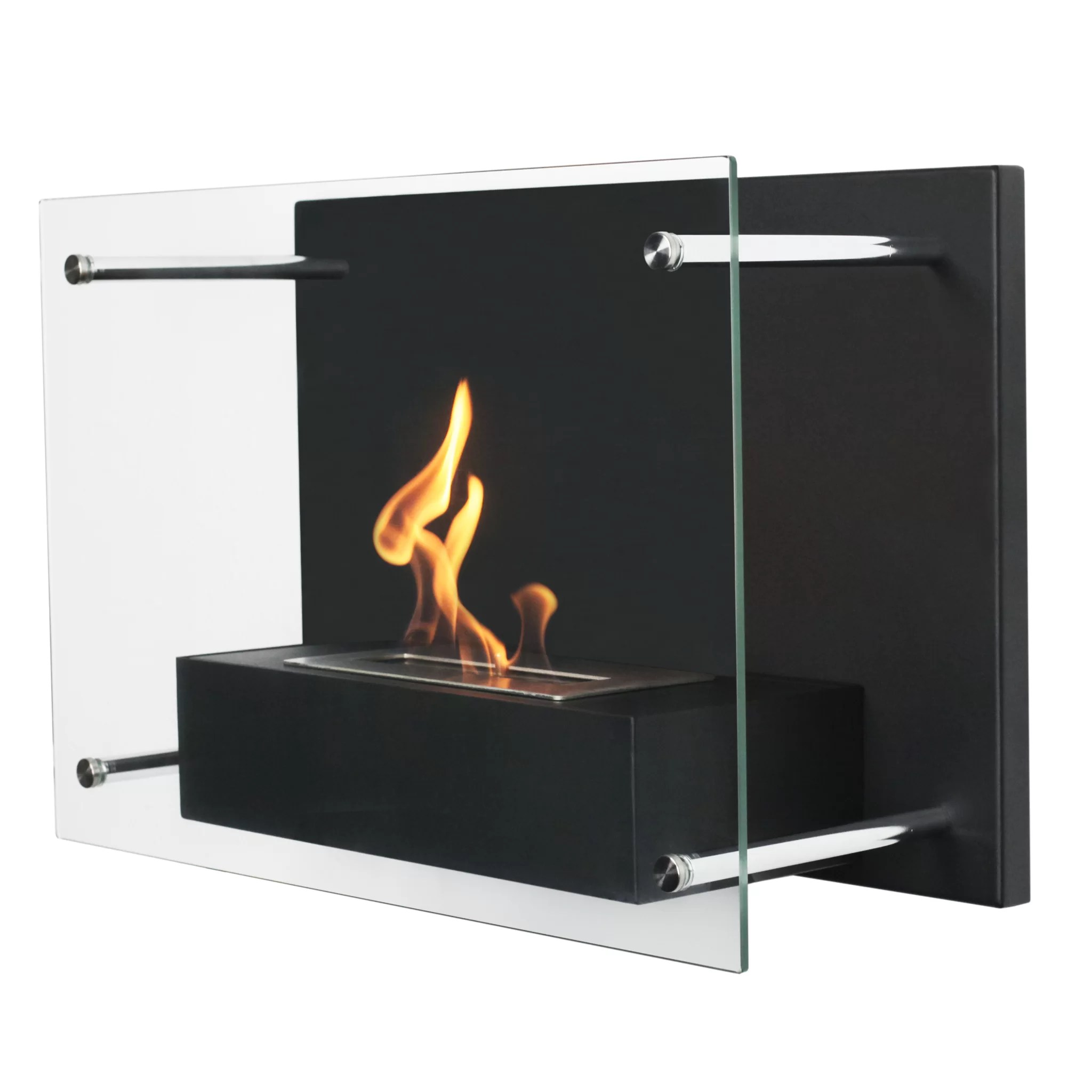 Ethanol Fireplaces Reviews Radia Wall Mounted Bio Ethanol Fireplace