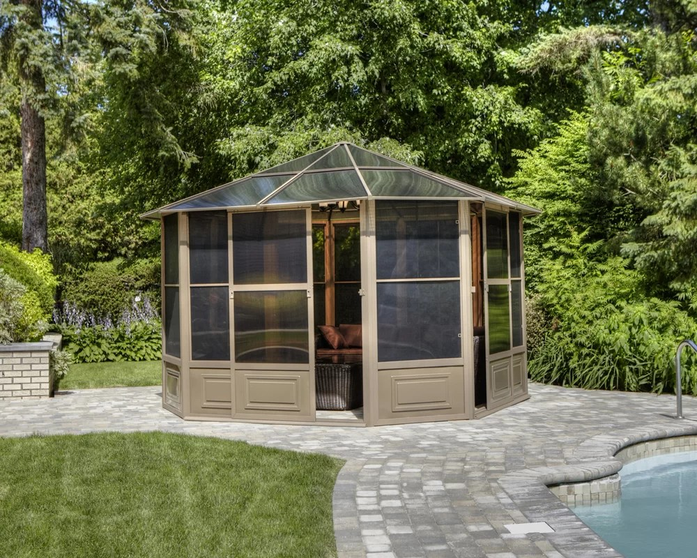 Metal Garden Gazebo Gazebo The Garden And Patio Home Guide