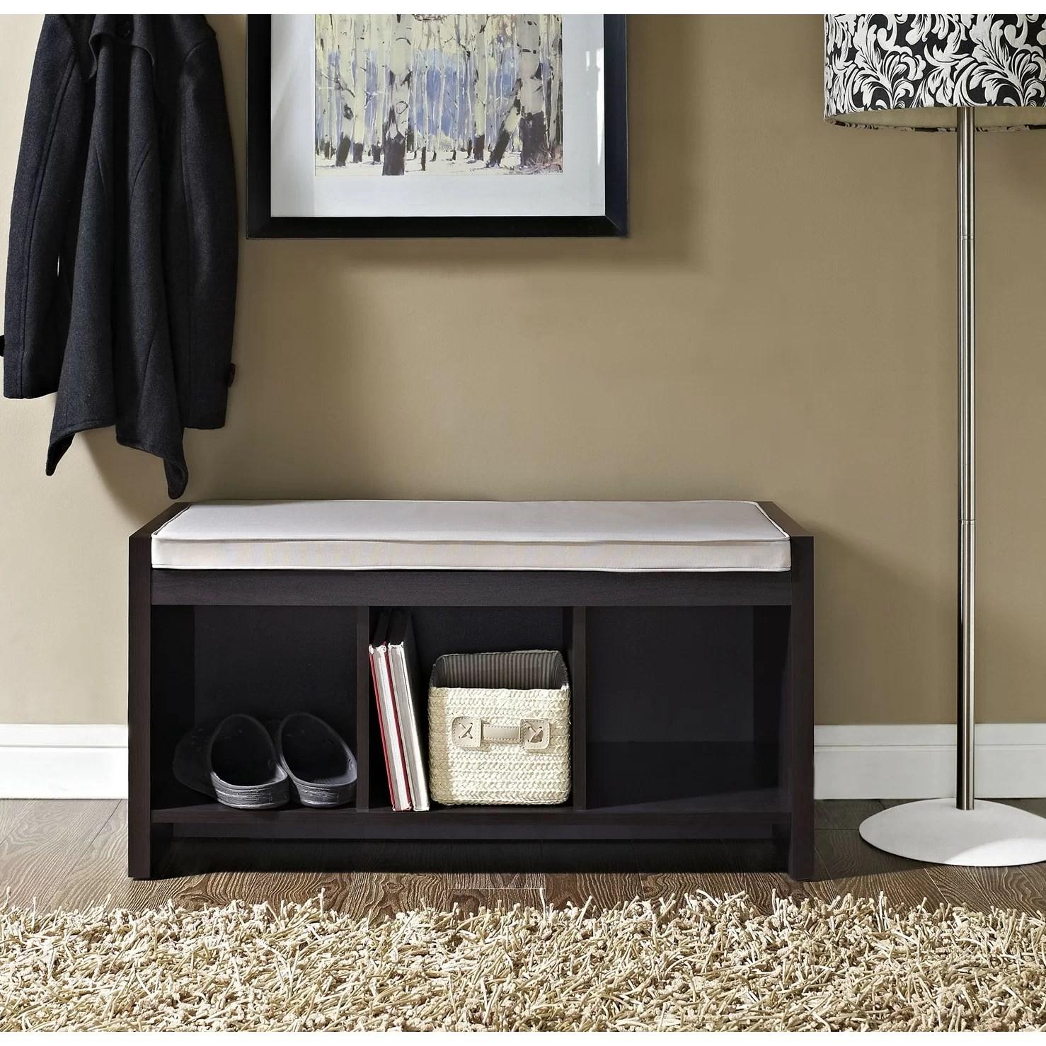 Zipcode Design Claudia Storage Bench With Cushion