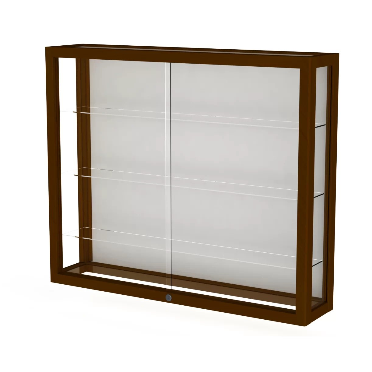 Wall Mounted Display Case Heirloom Series Wall Display Case