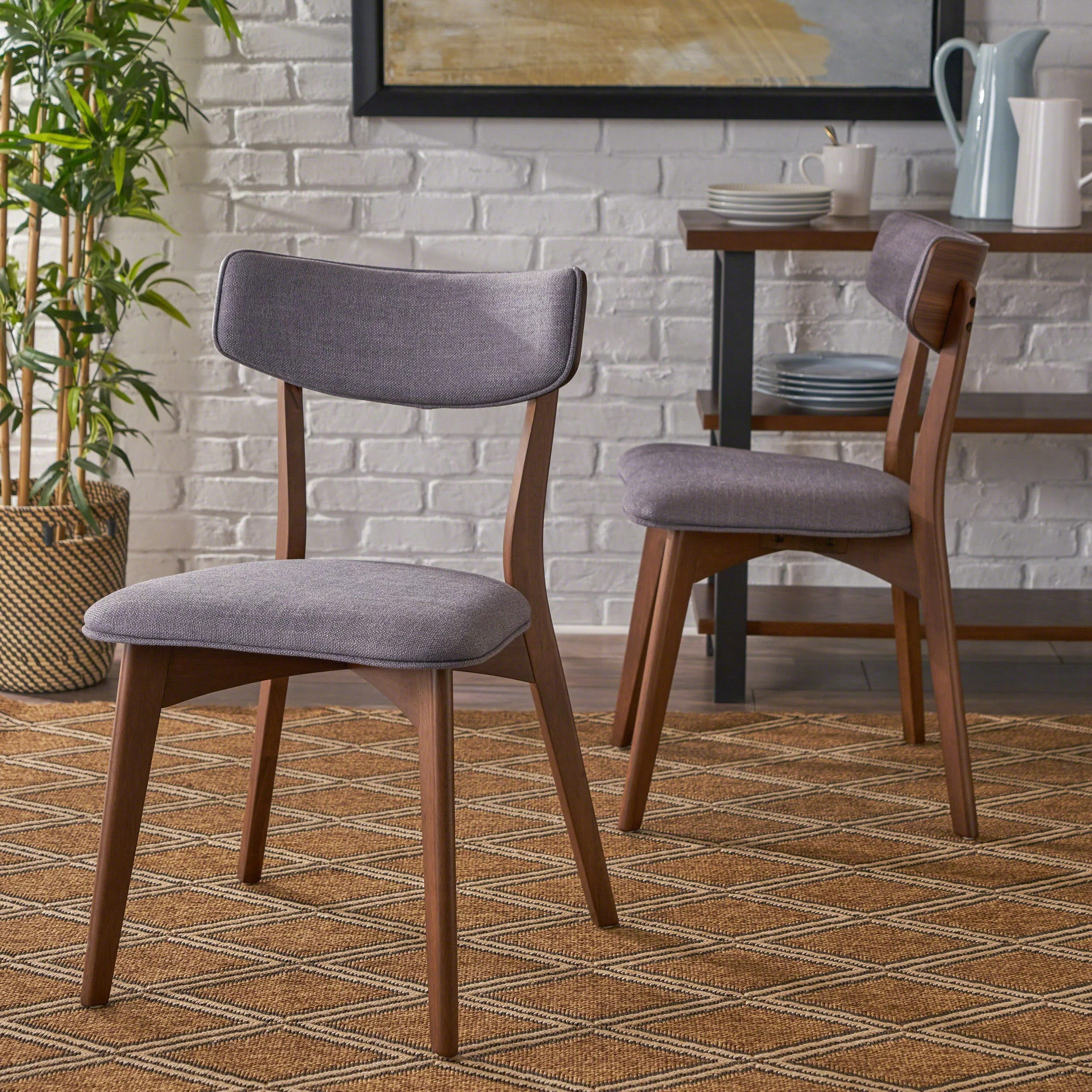 Modern Table And Chairs Hoopes Mid Century Modern Upholstered Dining Chair