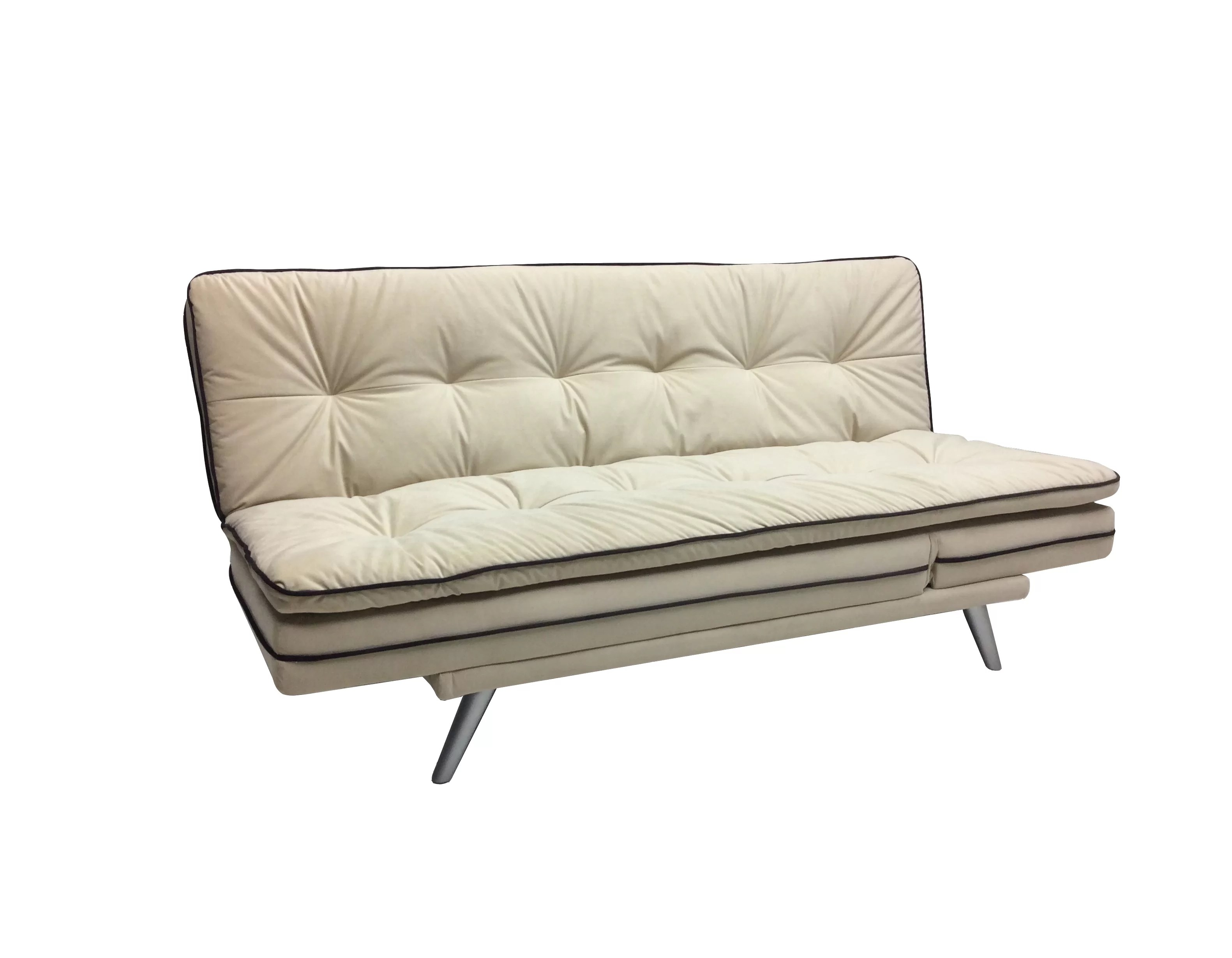 Futon Convertible 1 Place Julianne 3 In 1 Multi Function Convertible Sofa