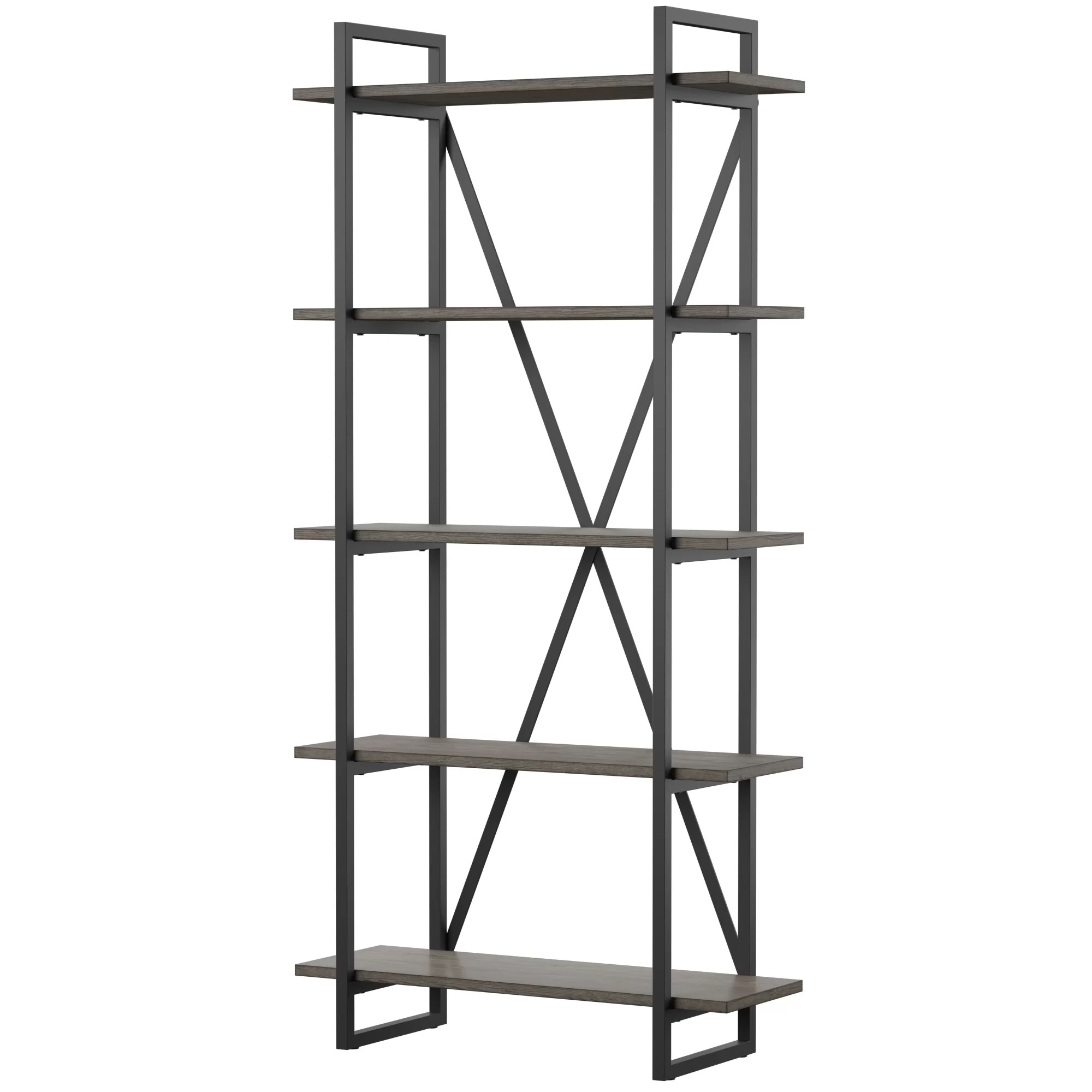Etagere Metal Keeble Metal Etagere Bookcase