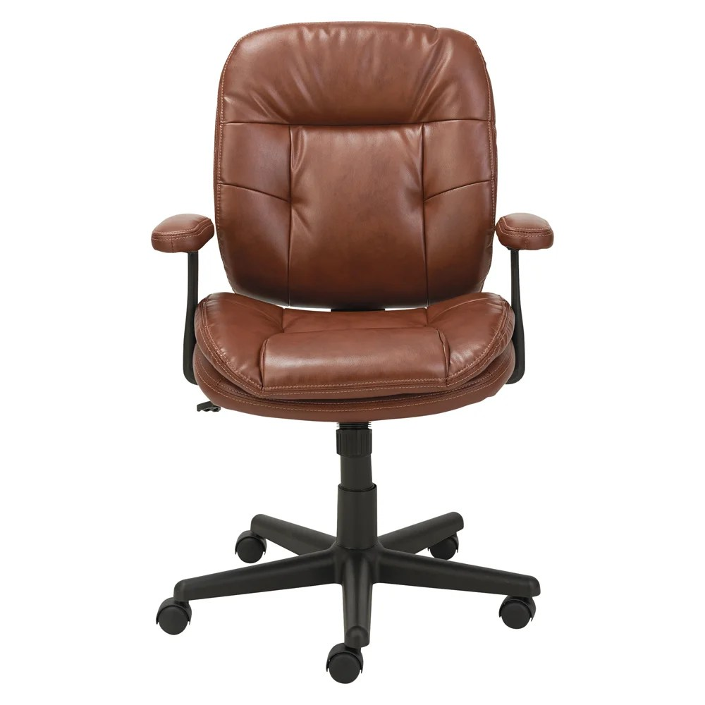 Desk Seat High Back Leather Desk Chair