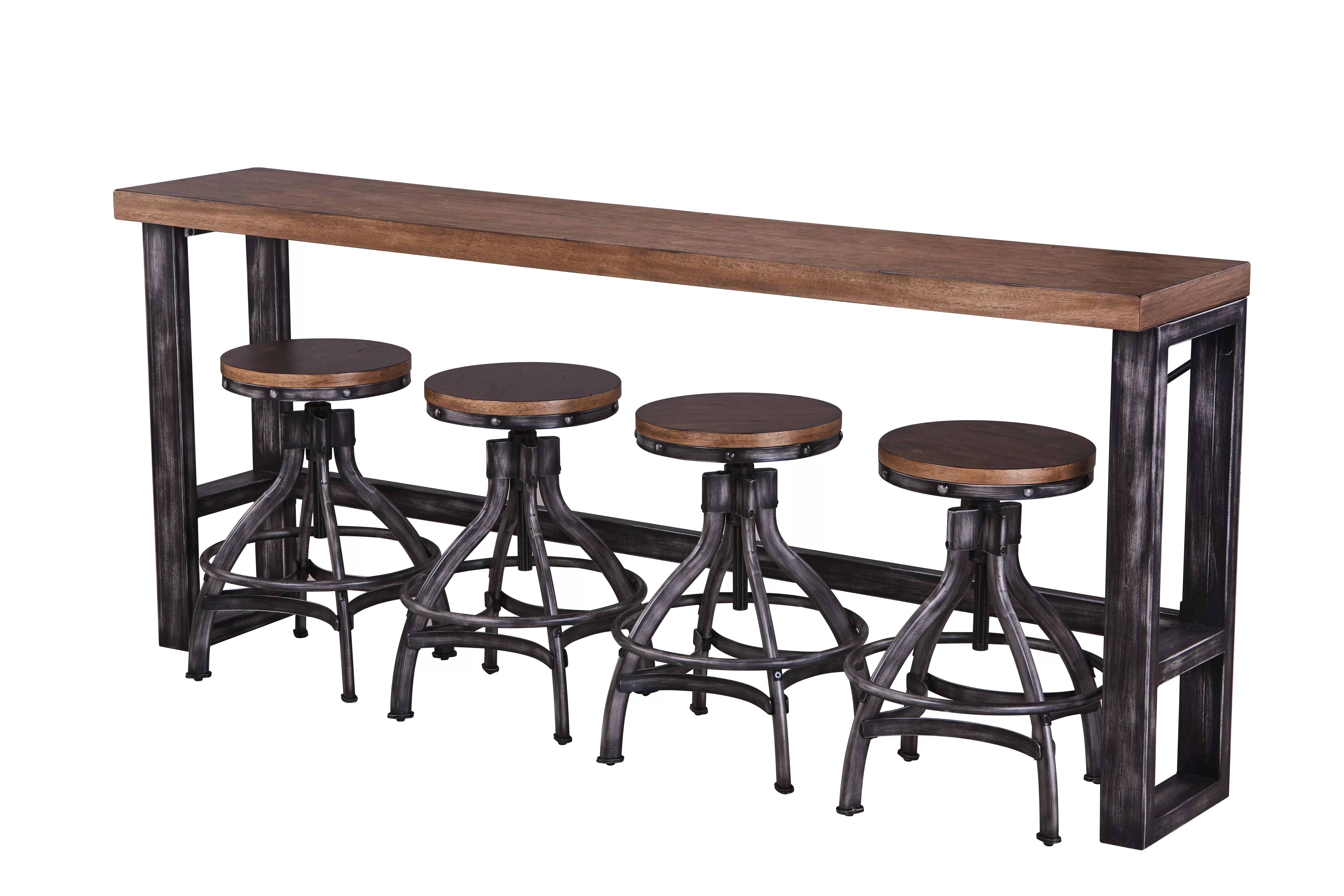 Table And Bar Stools Wellman Pub Table