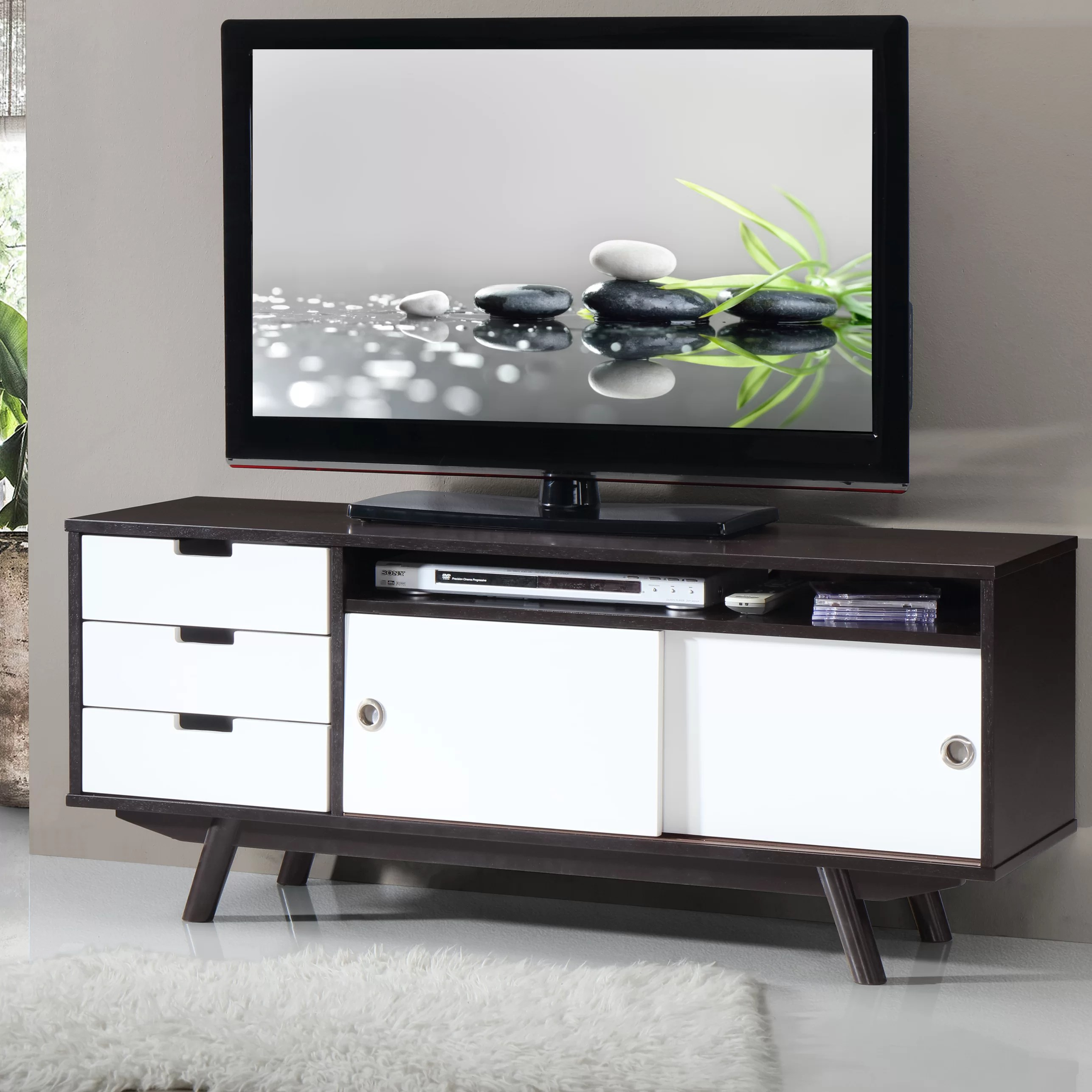 Modern Tv Modern Tv Stand For Tvs Up To 55