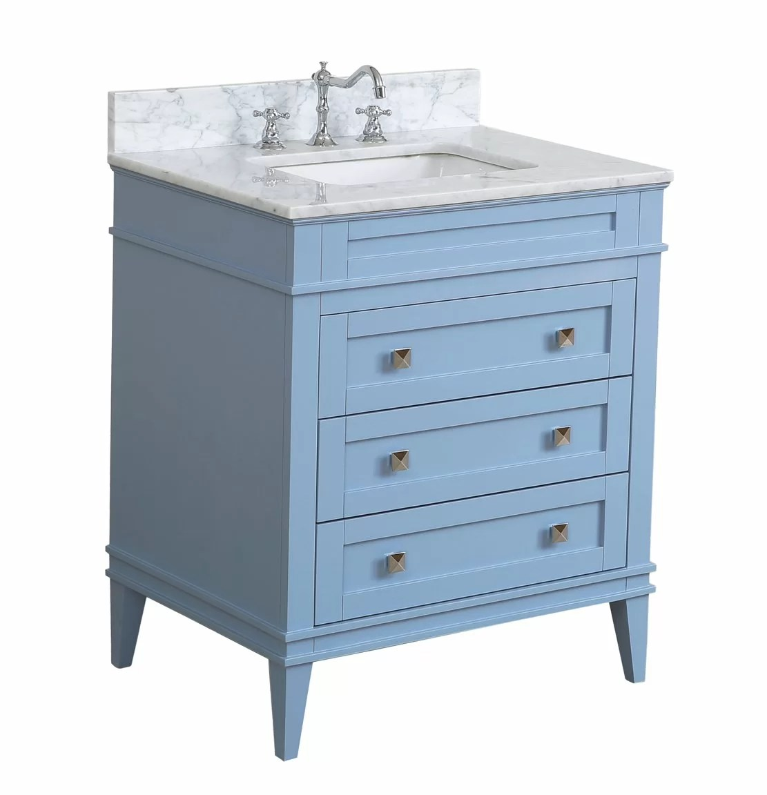 30 Vanity With Drawers Eleanor 30