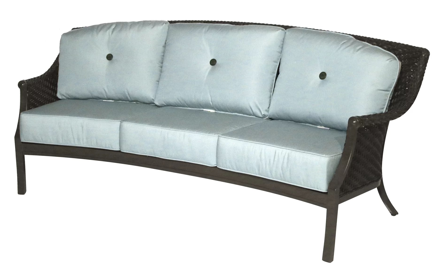 Sofa Cushions That Don't Go Flat Kanzler Patio Sofa With Cushions