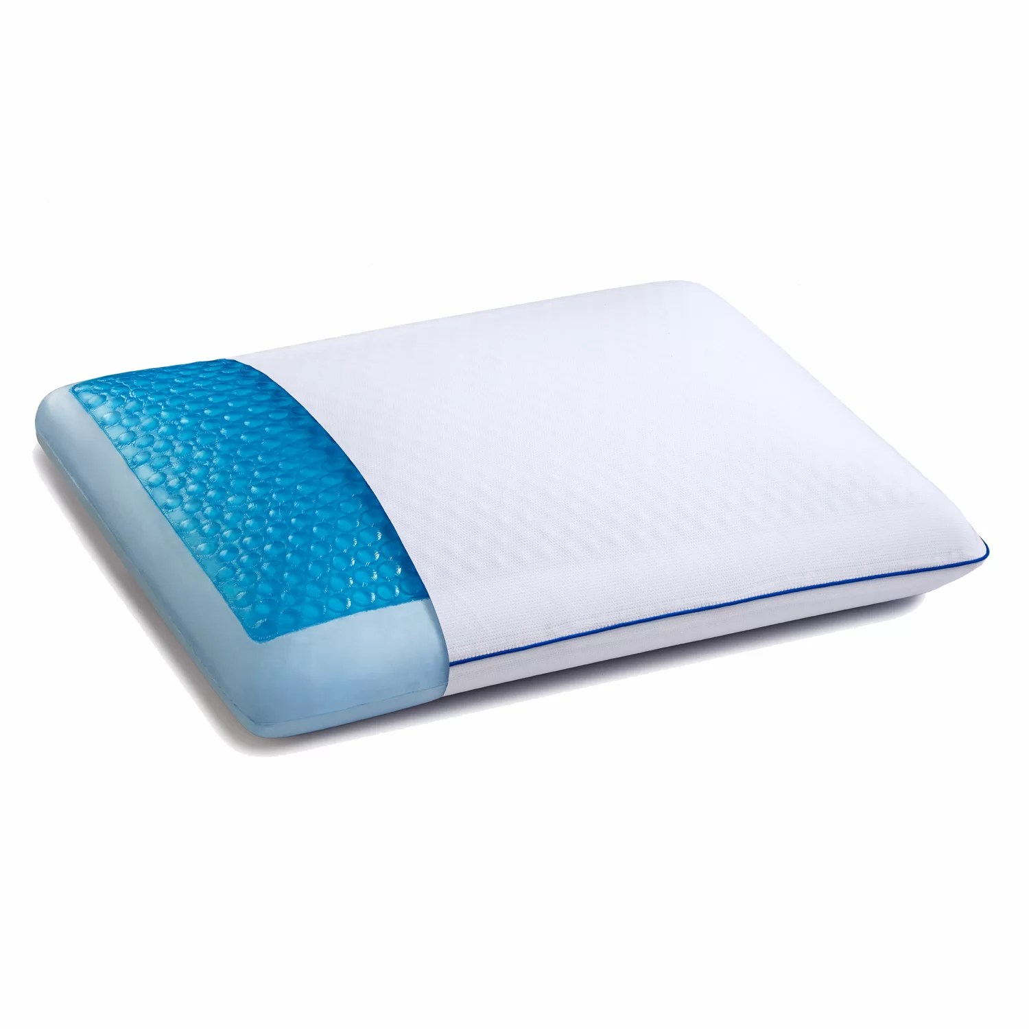Gel Infused Memory Foam Pillow Coolgel Hd Gel Memory Foam Pillow