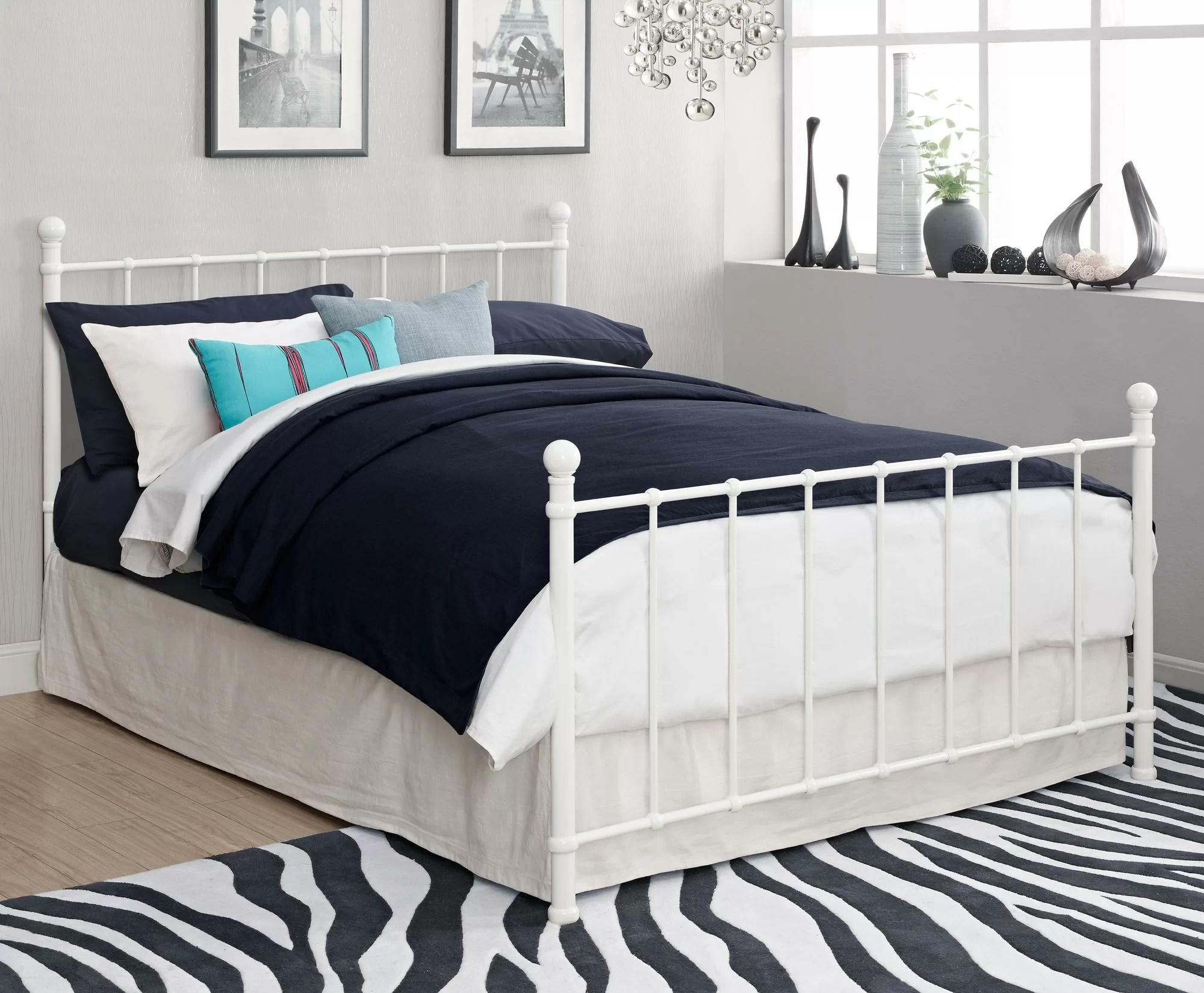Full Double Bed August Grove Eleanore Full Double Platform Bed