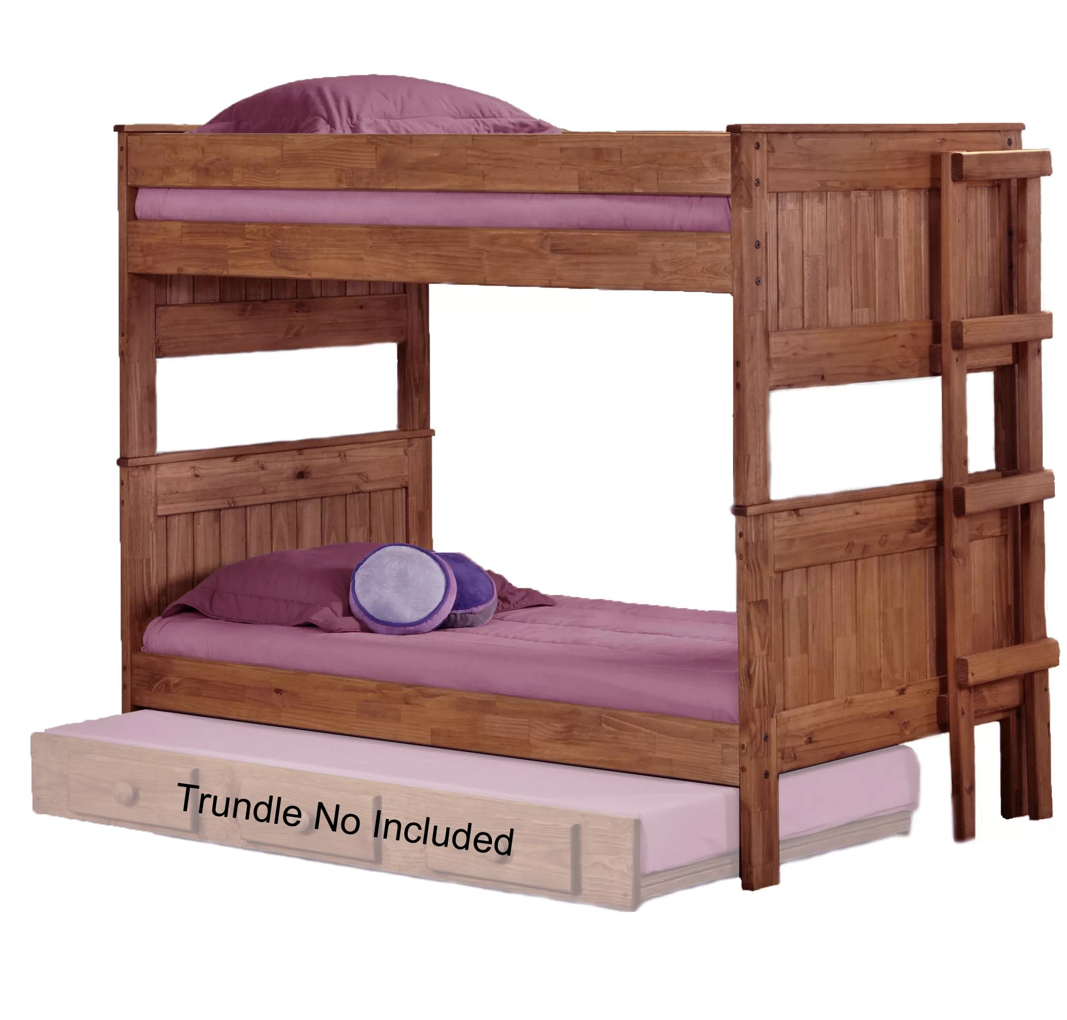 Stackable Twin Beds Chavez Stackable Twin Over Twin Bunk Bed