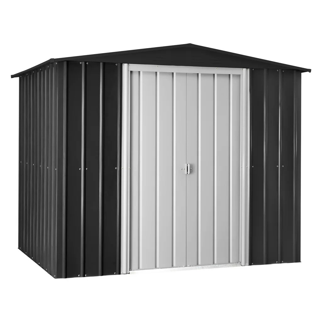 Steel Storage Sheds 7 5 Ft W X 5 5 Ft D Metal Traditional Storage Shed