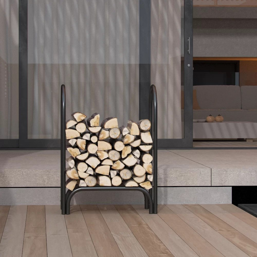 Outdoor Firewood Rack Indoor Outdoor Firewood Shelter Log Rack