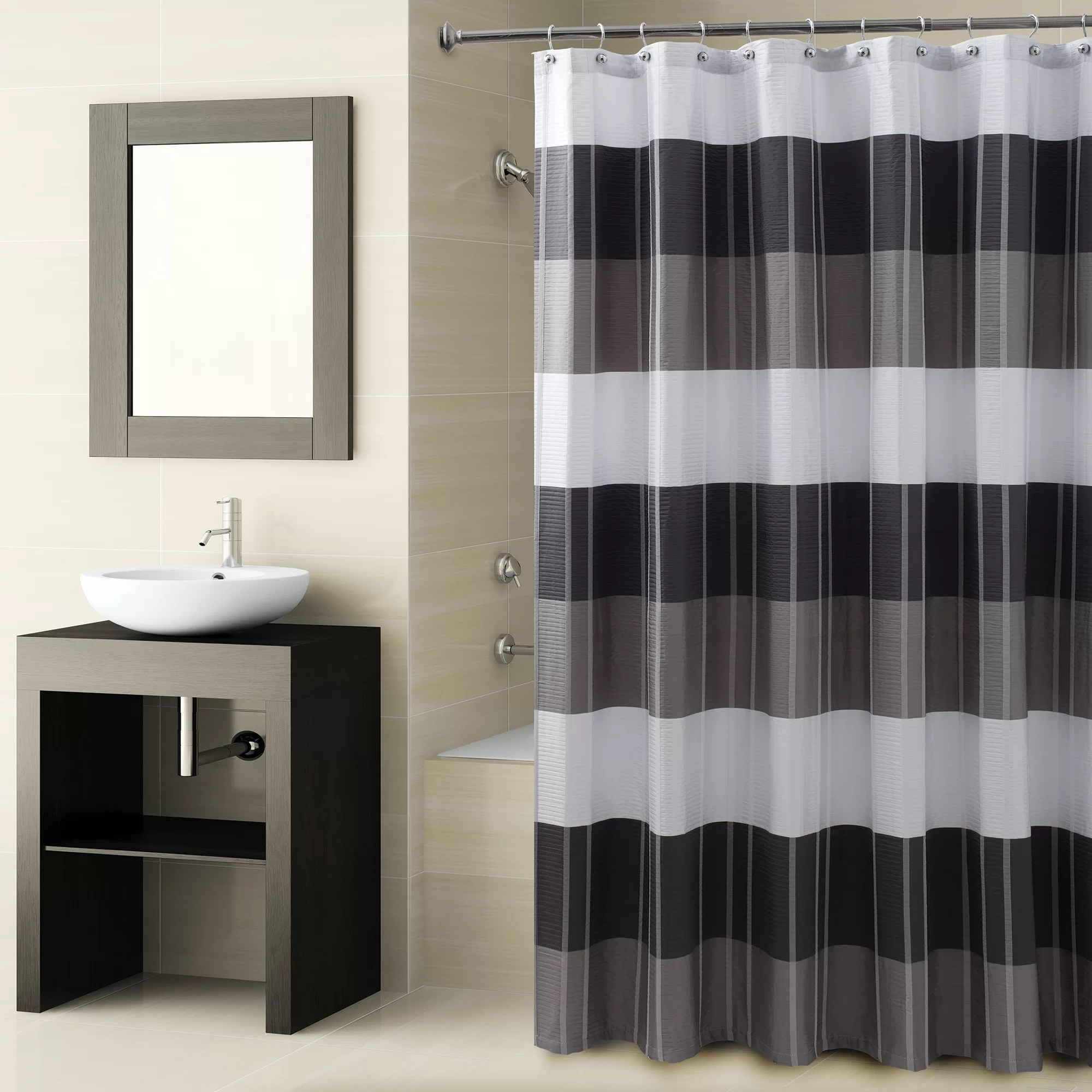 How To Make Shower Curtain Fairfax Single Shower Curtain