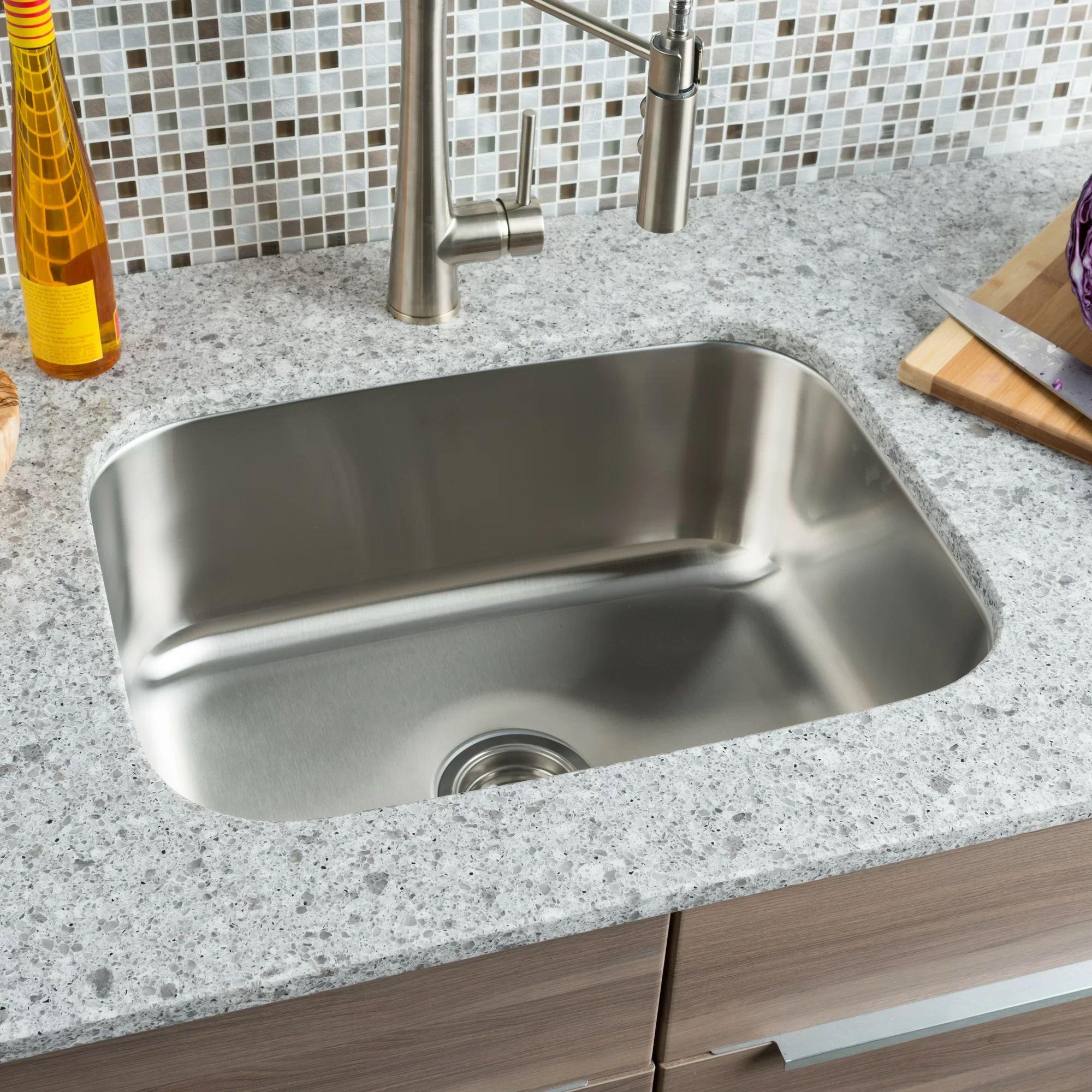 Cast iron single bowl kitchen sink - Single Bowl Cast Iron Kitchen Sink Cast Iron Single Bowl Kitchen Sink Classic Chef 23