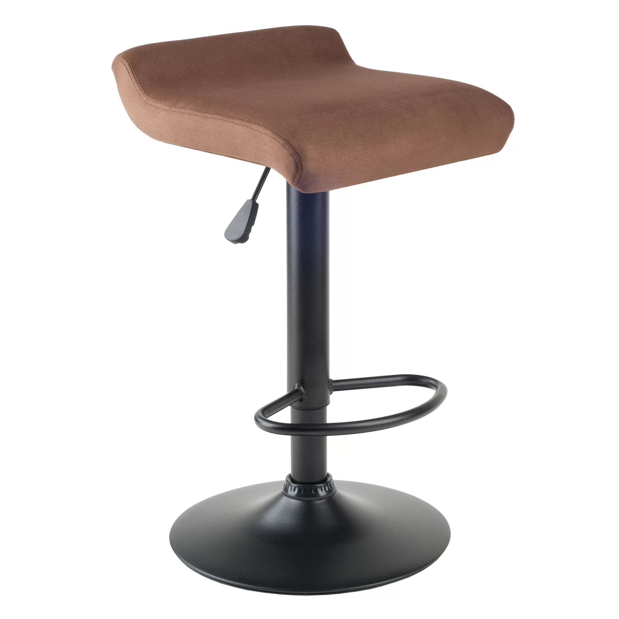Where To Buy Bar Stools In Toronto Latitude Run Varroville Adjustable Height Swivel Bar Stool