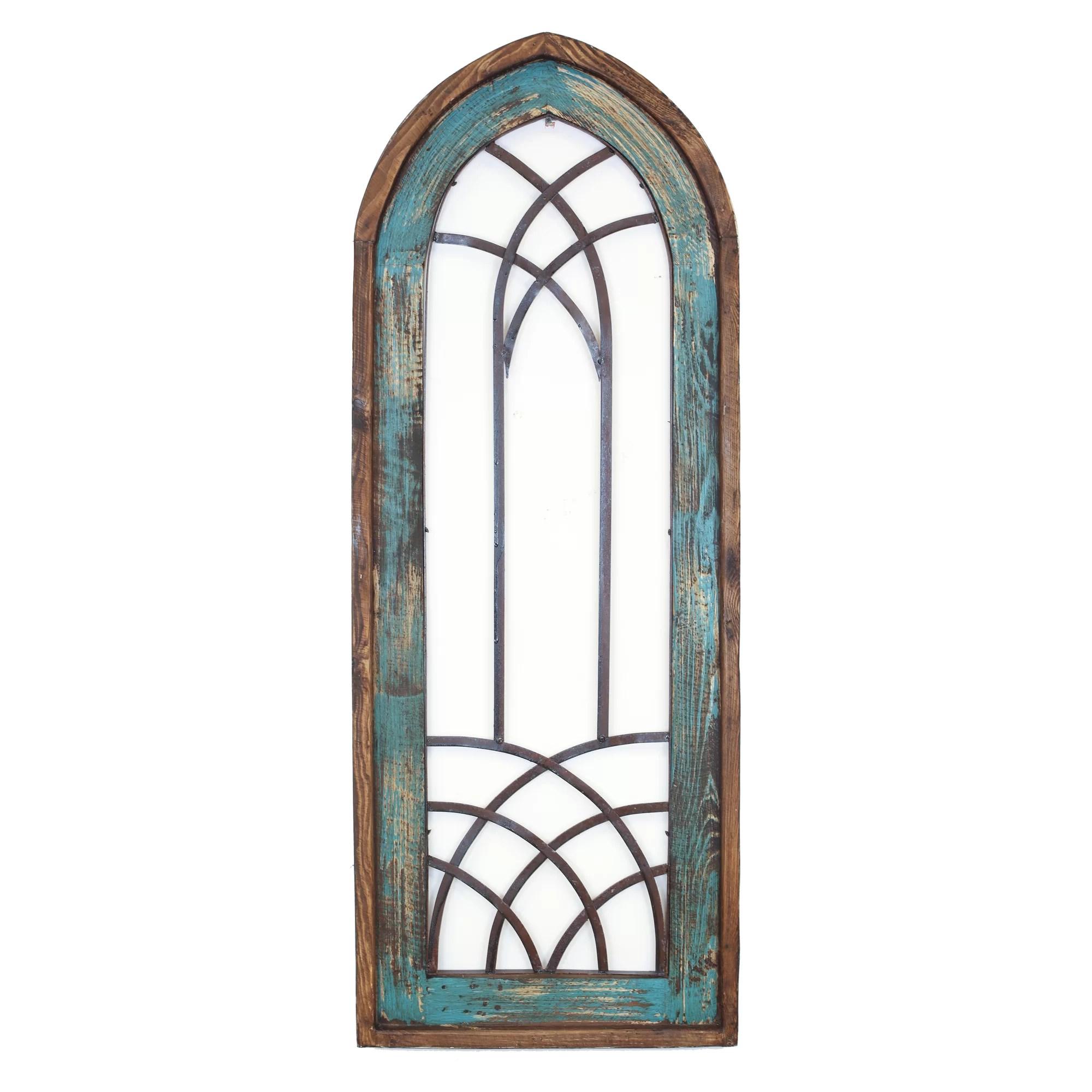 MyAmigosImports Valeria Architectural Window Wall Decor