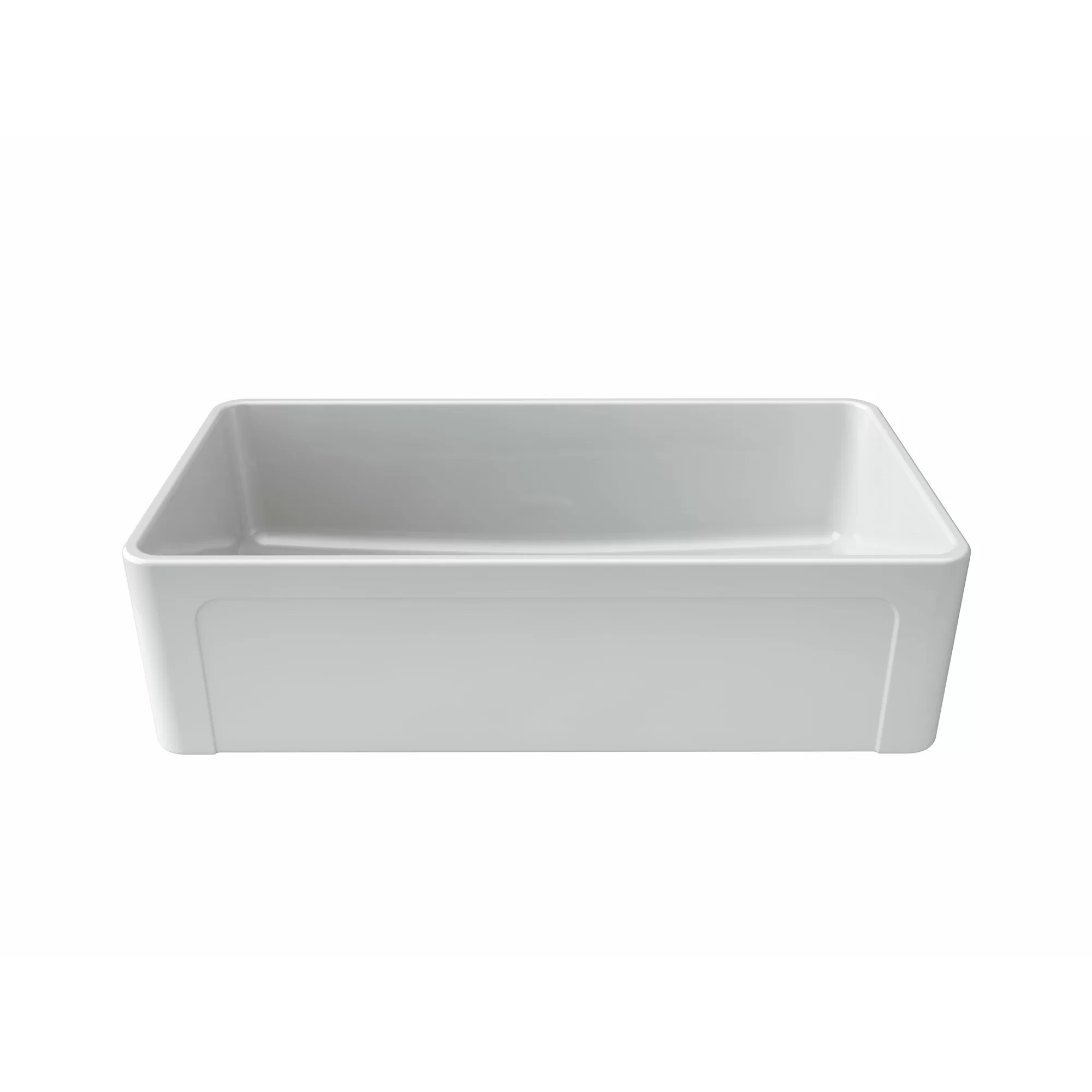 Latoscana Farmhouse Sink 36 Latoscana 36 Quot X 19 Quot Fireclay Kitchen Sink Wayfair