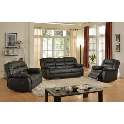 Living In Style Casta 3 Piece Living Room Set \ Reviews Wayfair - 3 piece living room sets