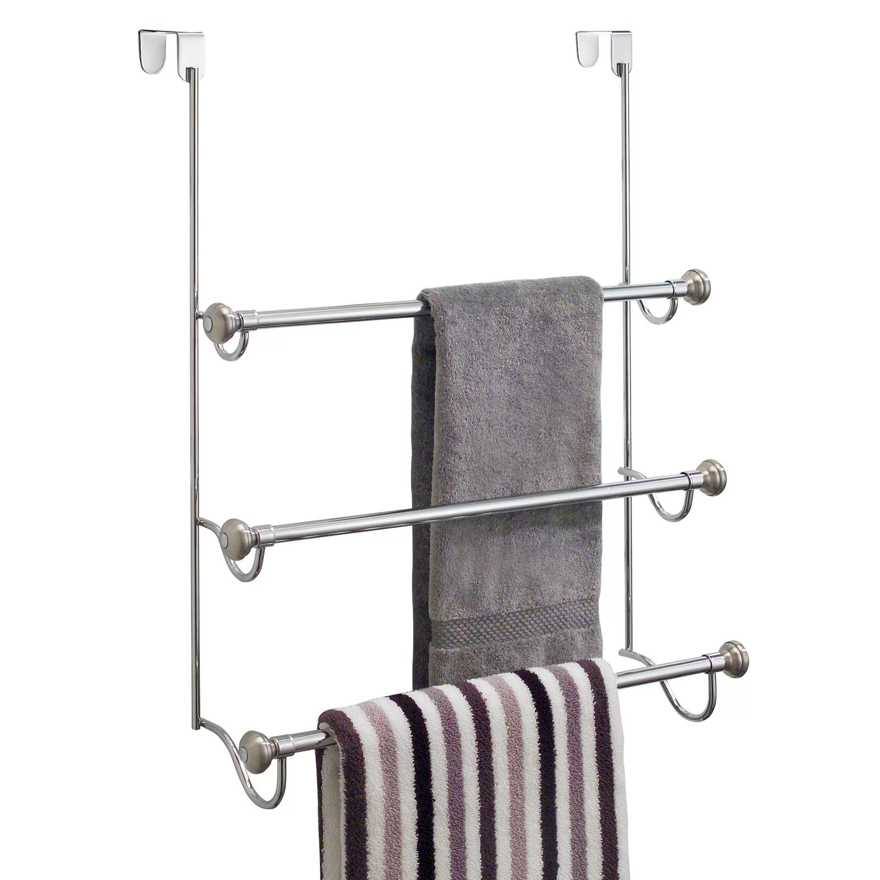 Bathroom Door Rack Over The Door Rack For Bathroom