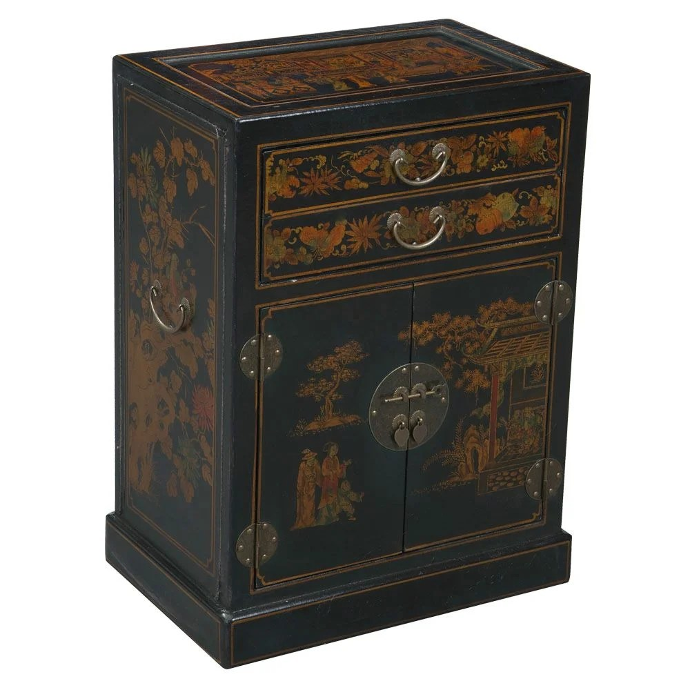 wine racks cabinets c a~ kitchen wine cabinet Handmade Oriental Antique 9 Bottle Floor Wine Cabinet