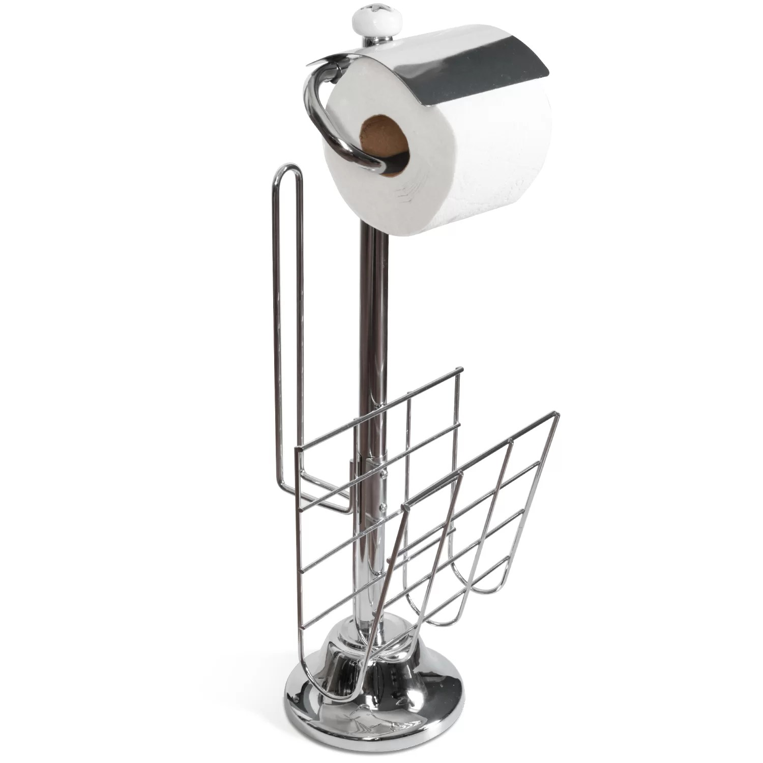 Free Standing Toilet Paper Holder Toilet Tree Products Freestanding Toilet Paper Holder And