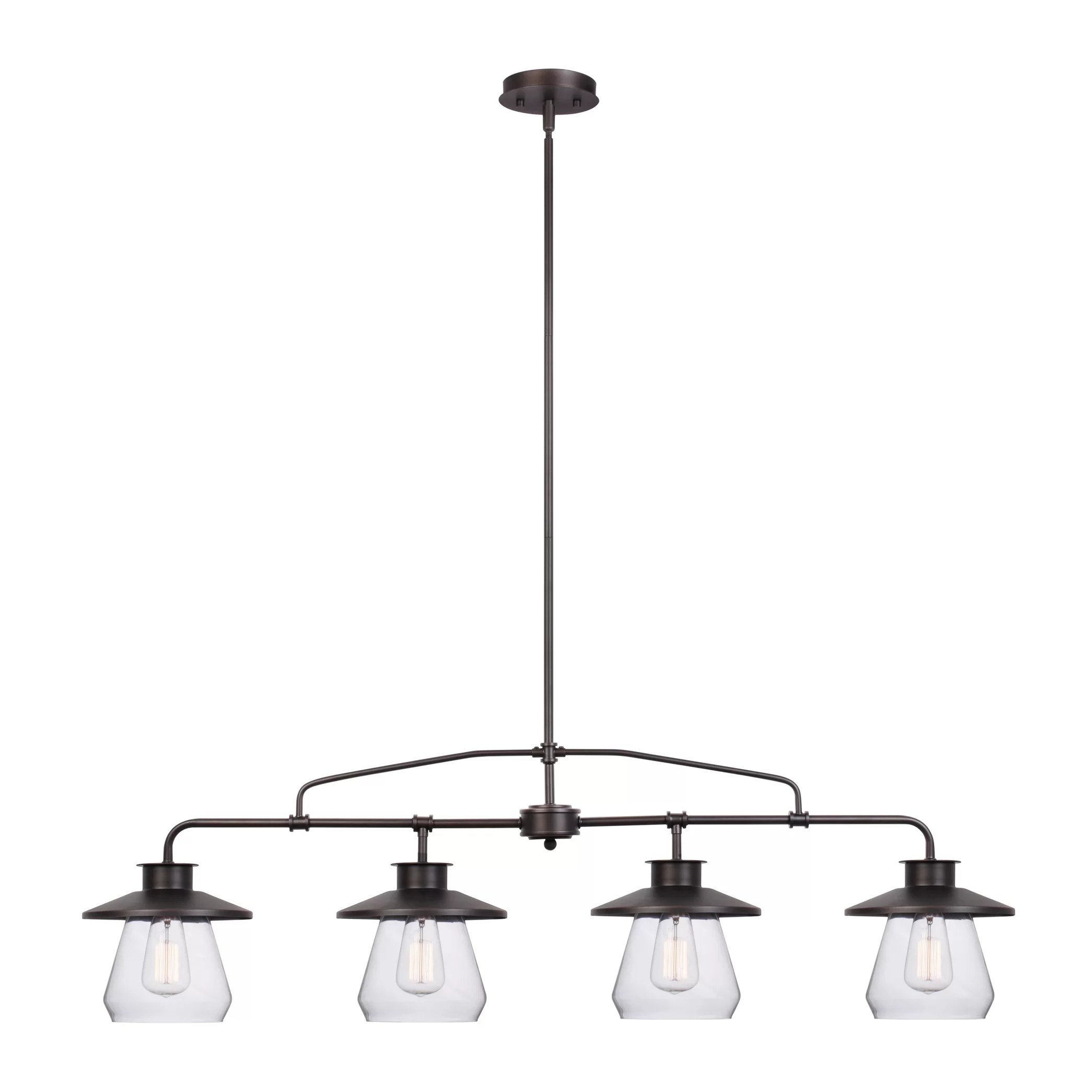 island lights c kitchen island light Angelina 4 Light Kitchen Island Pendant