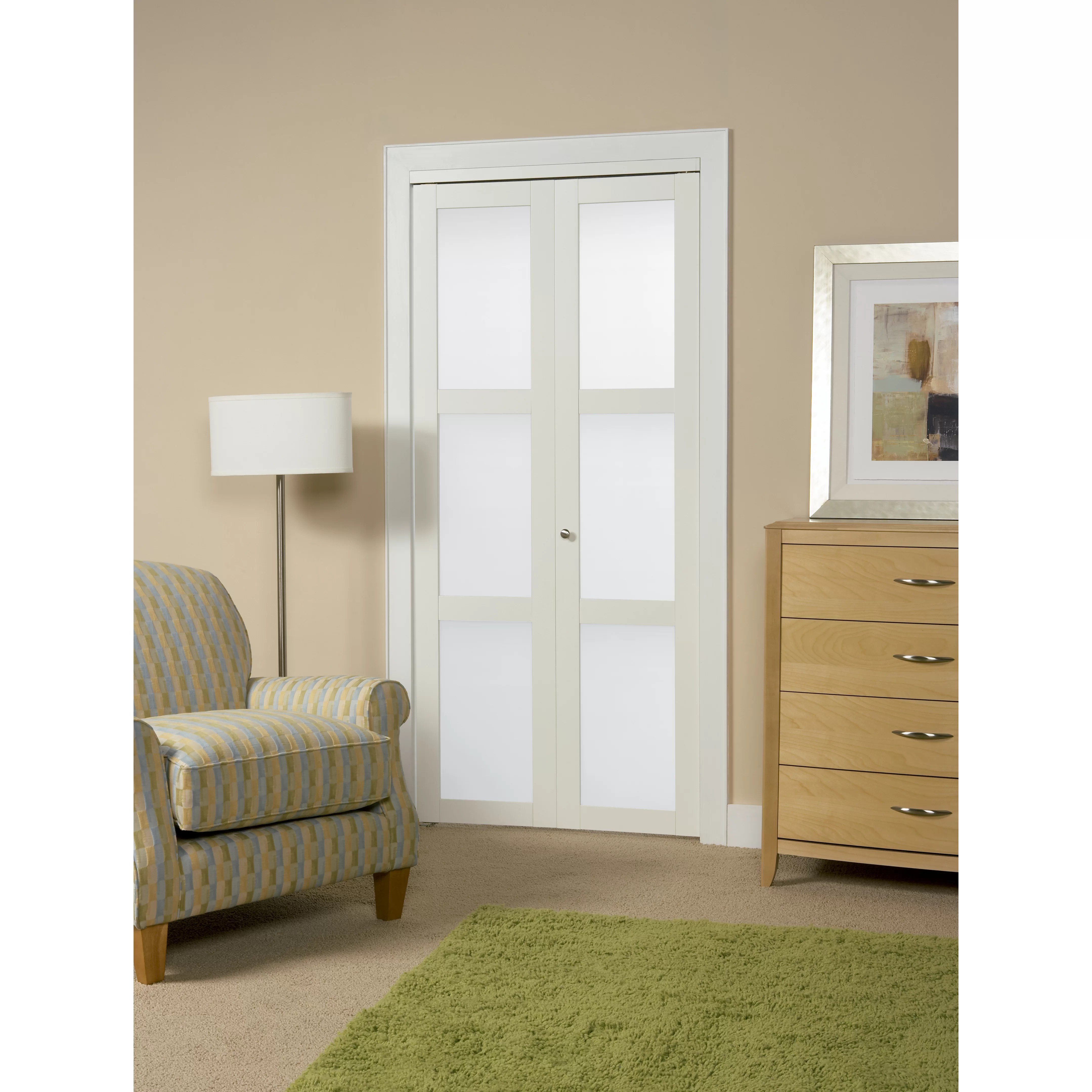 Erias home designs continental frosted glass 1 panel ironage bi fold doors for bathroom download bi fold doors for bathroom Erias Home Designs